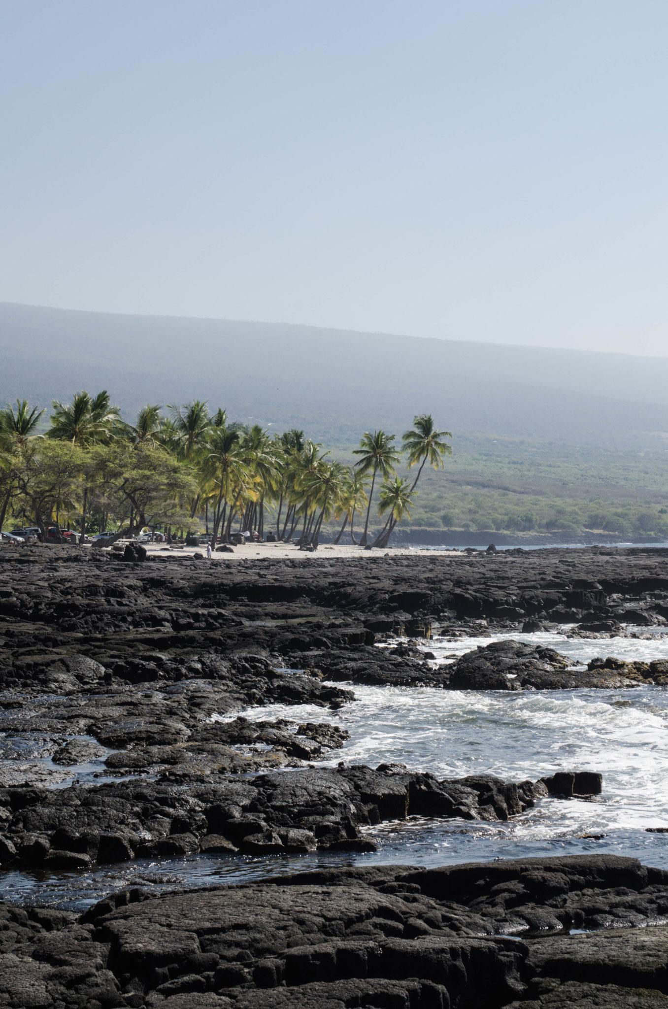 Sehenswürdigkeiten Hawaii: Die Vulkanstrände von Big Island sind traumhaft schön.
