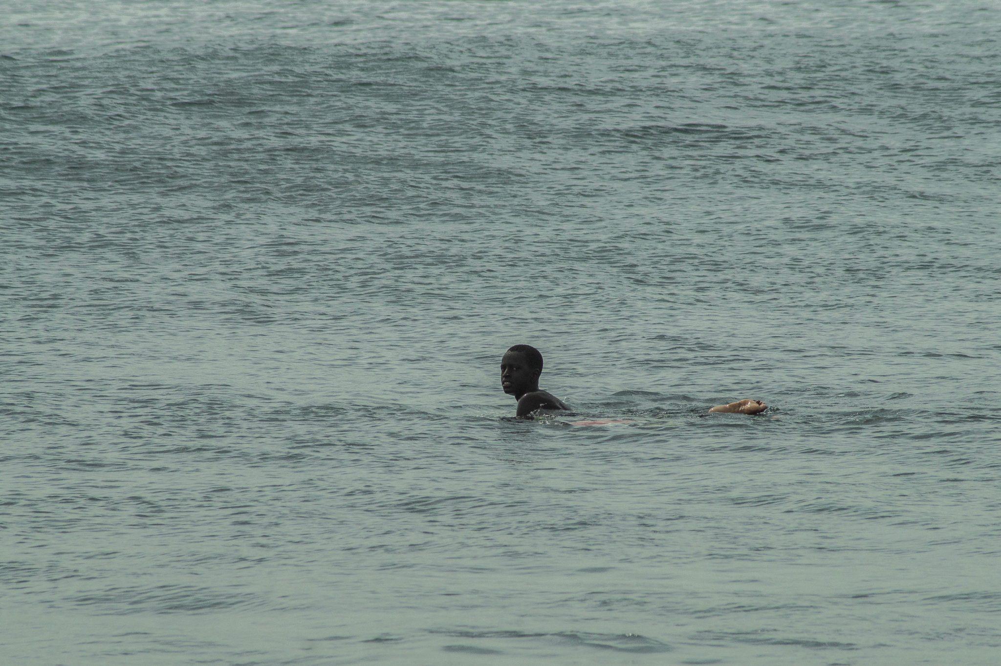 Surf Senegal: Das Gute am Surfen im Senegal ist, dass das Line-up hier nie wirklich voll ist.