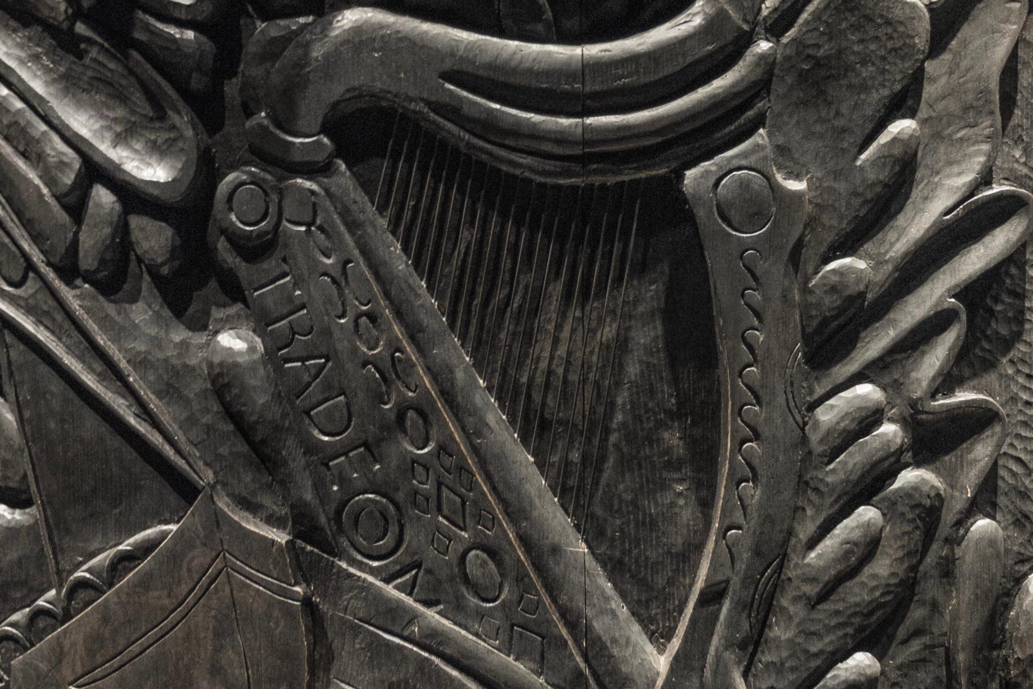 St. Patrick's Day in Dublin: Dem Klang der Harfe nach