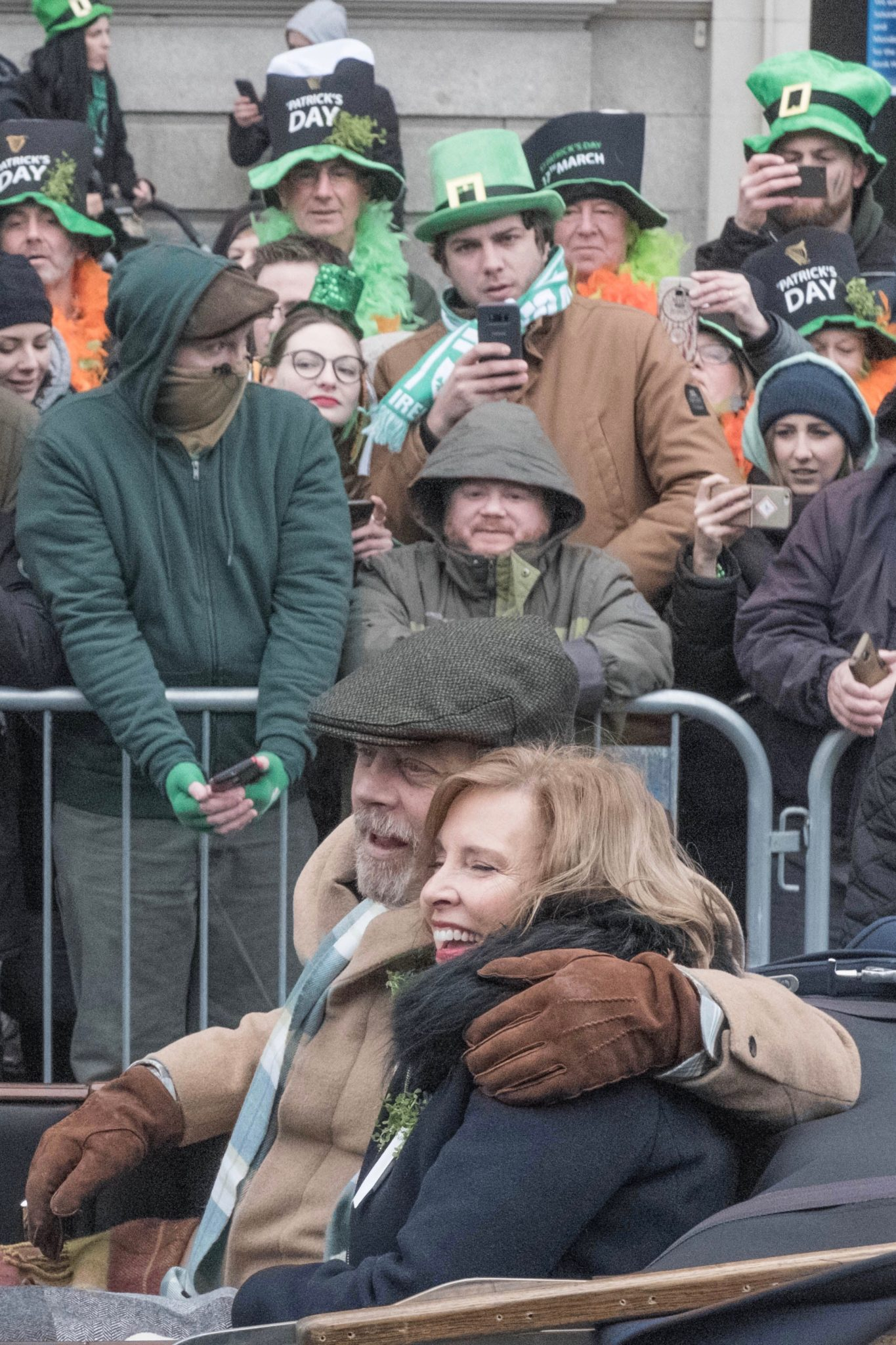 St. Patrick's Day in Dublin: Mark Hammill in Dublin