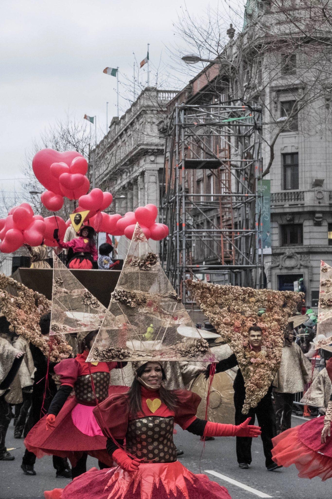St. Patrick's Day in Dublin: Die Tänzer kommen von der ganzen Welt nach Dublin