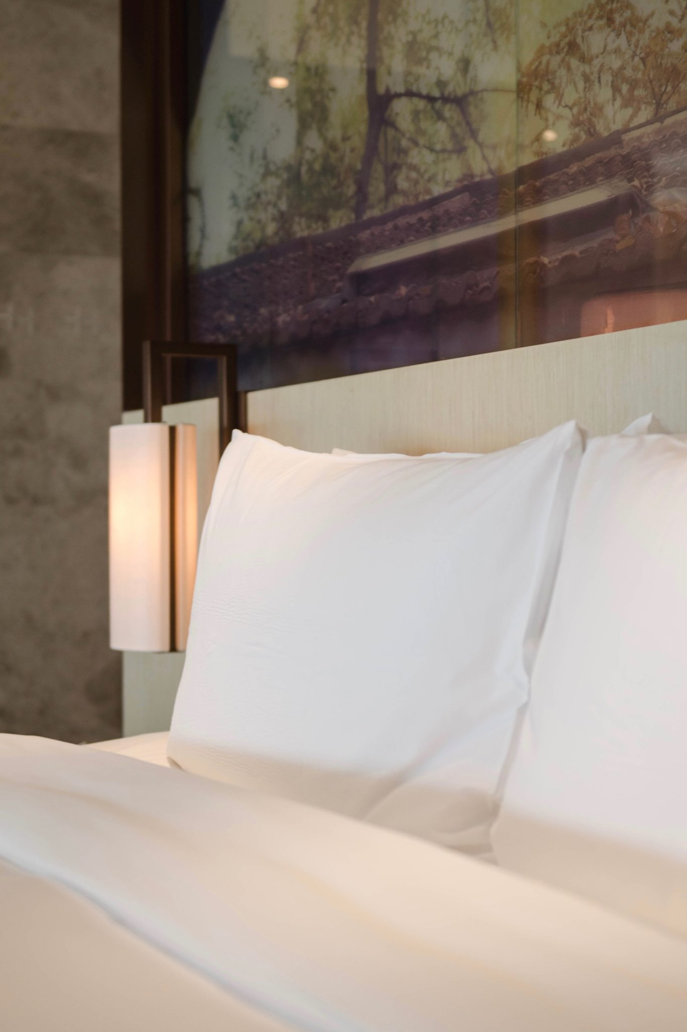 Die Betten im East Beijing Hotel
