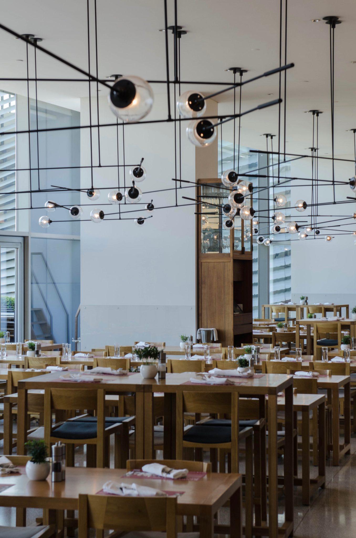 Der Frühstücksraum im Hotel in Peking