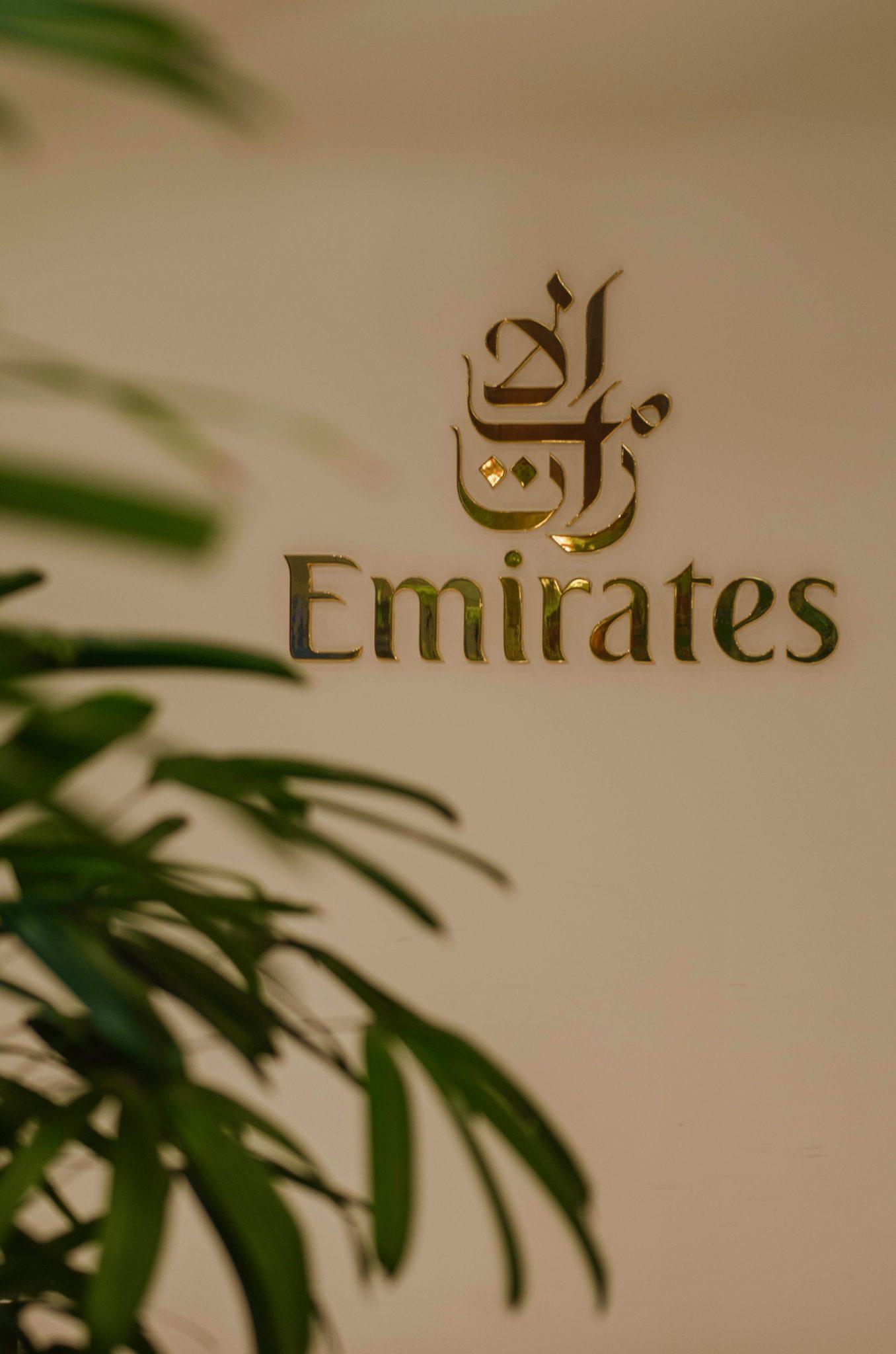 Emirates Business Class A380: Die Emirates Lounge am Flughafen Frankfurt ist geräumig und gemütlich