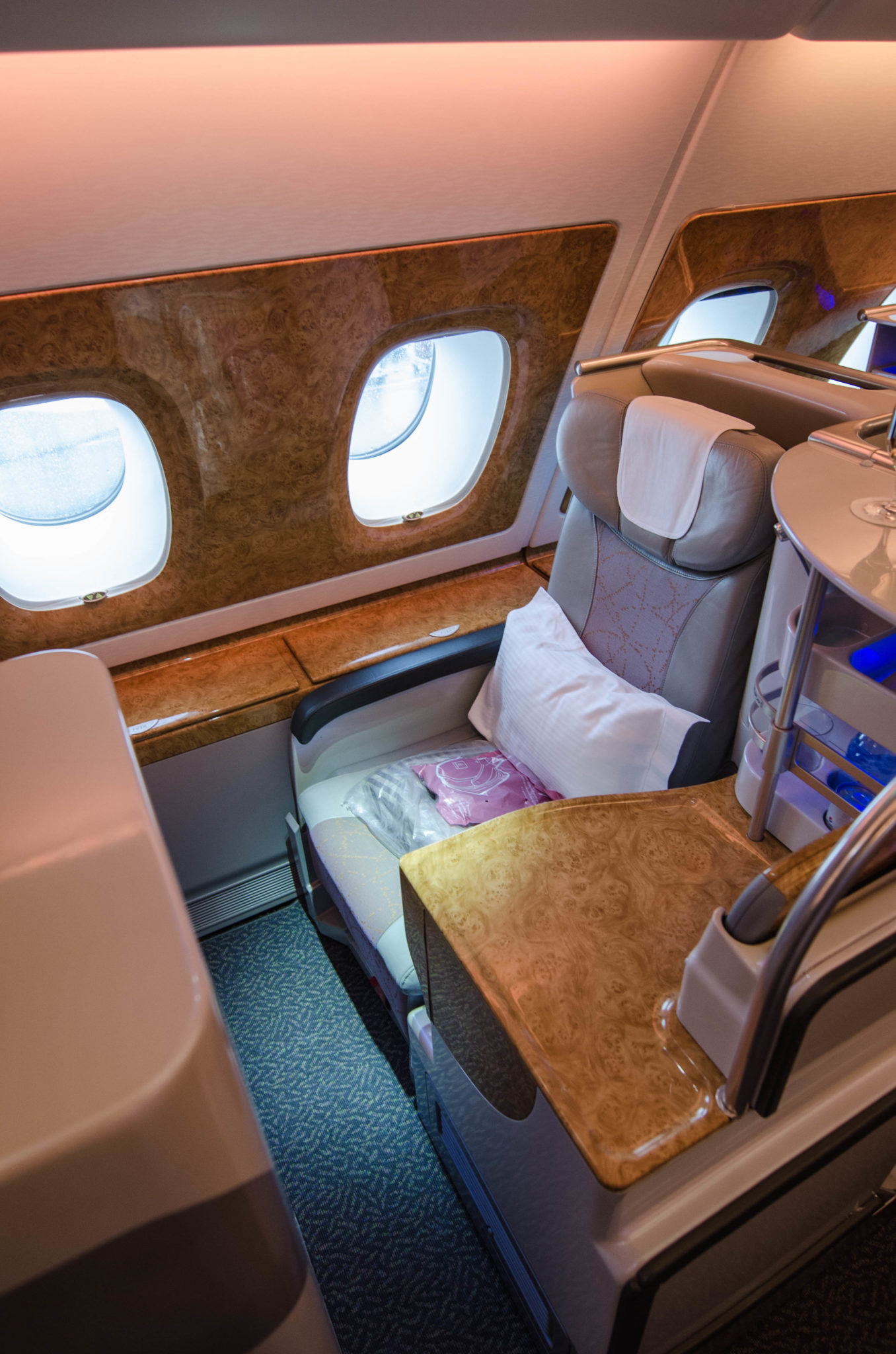Review Emirates Business Class A380 Unsere Erfahrungen