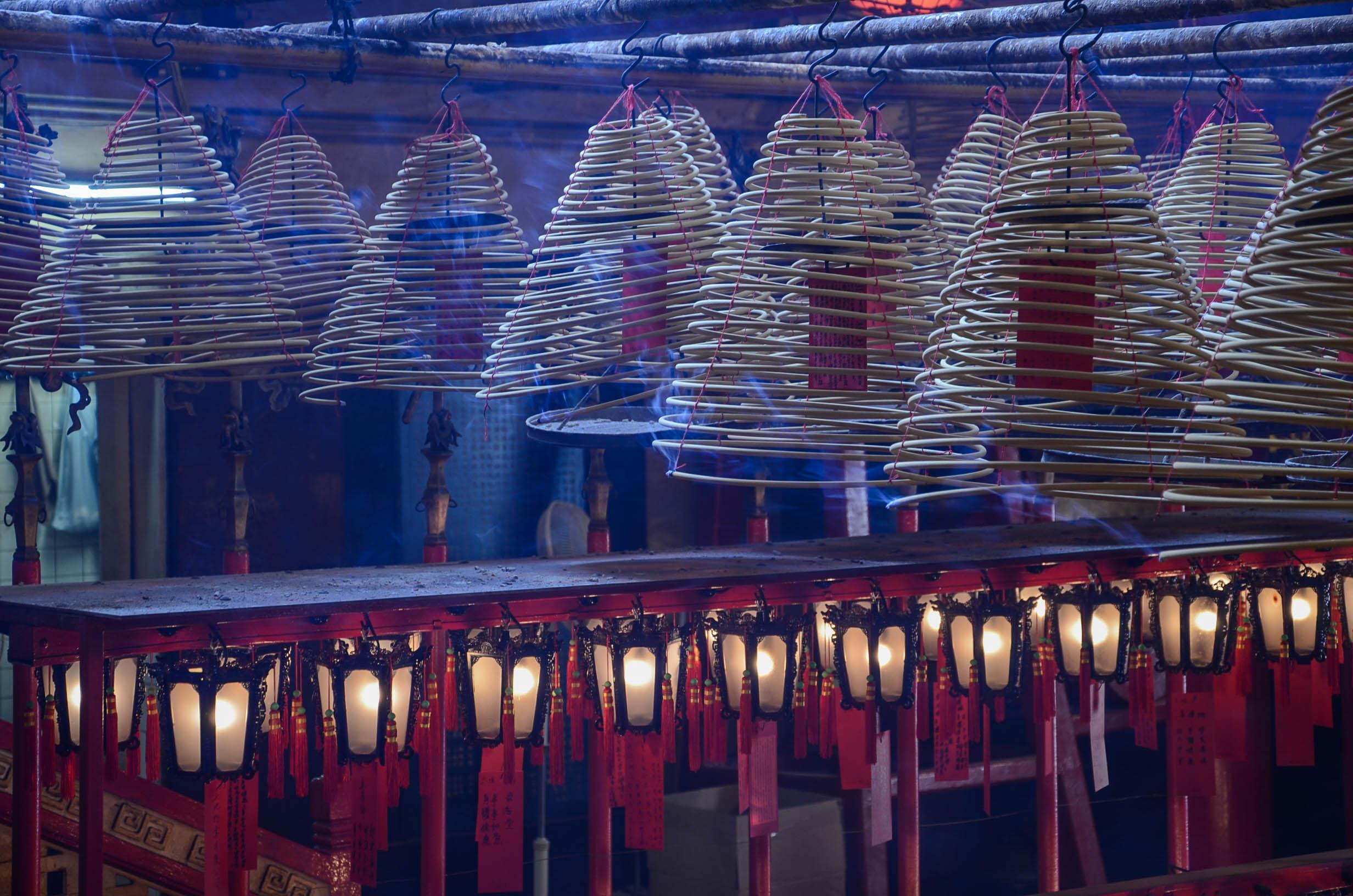 Hongkong Reisetipps: Der Besuch im Tempel darf bei einer Reise in Hongkong nicht fehlen
