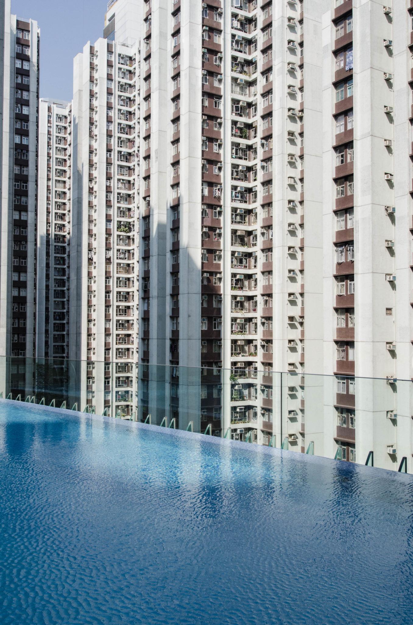 Pool des Hotel EAST Hong Kong