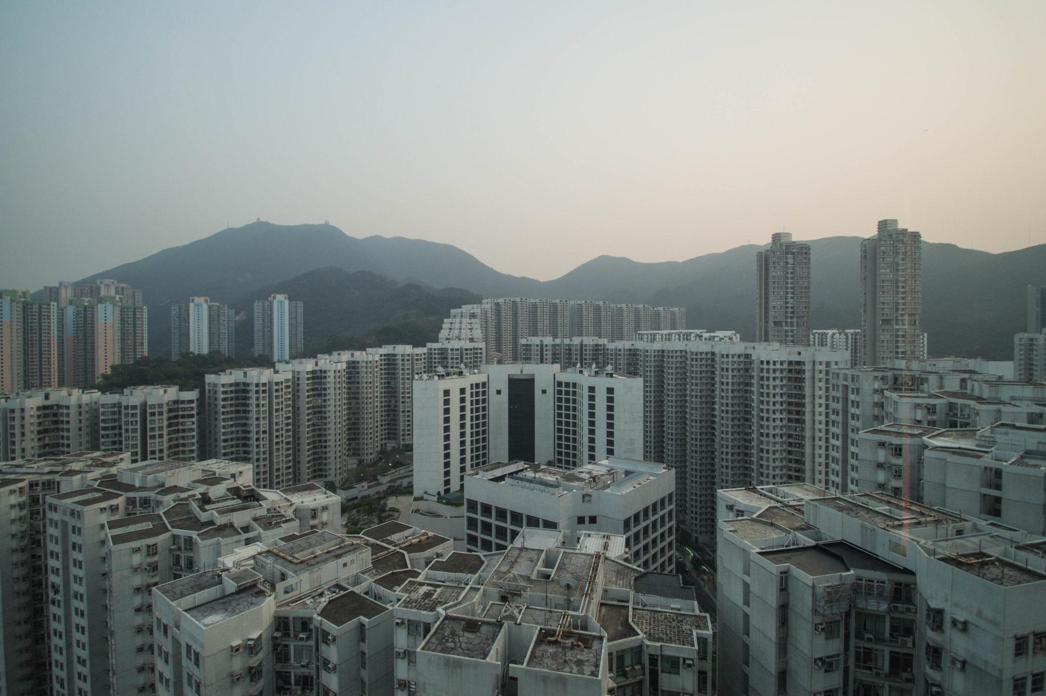 Der Ausblick auf Hongkong