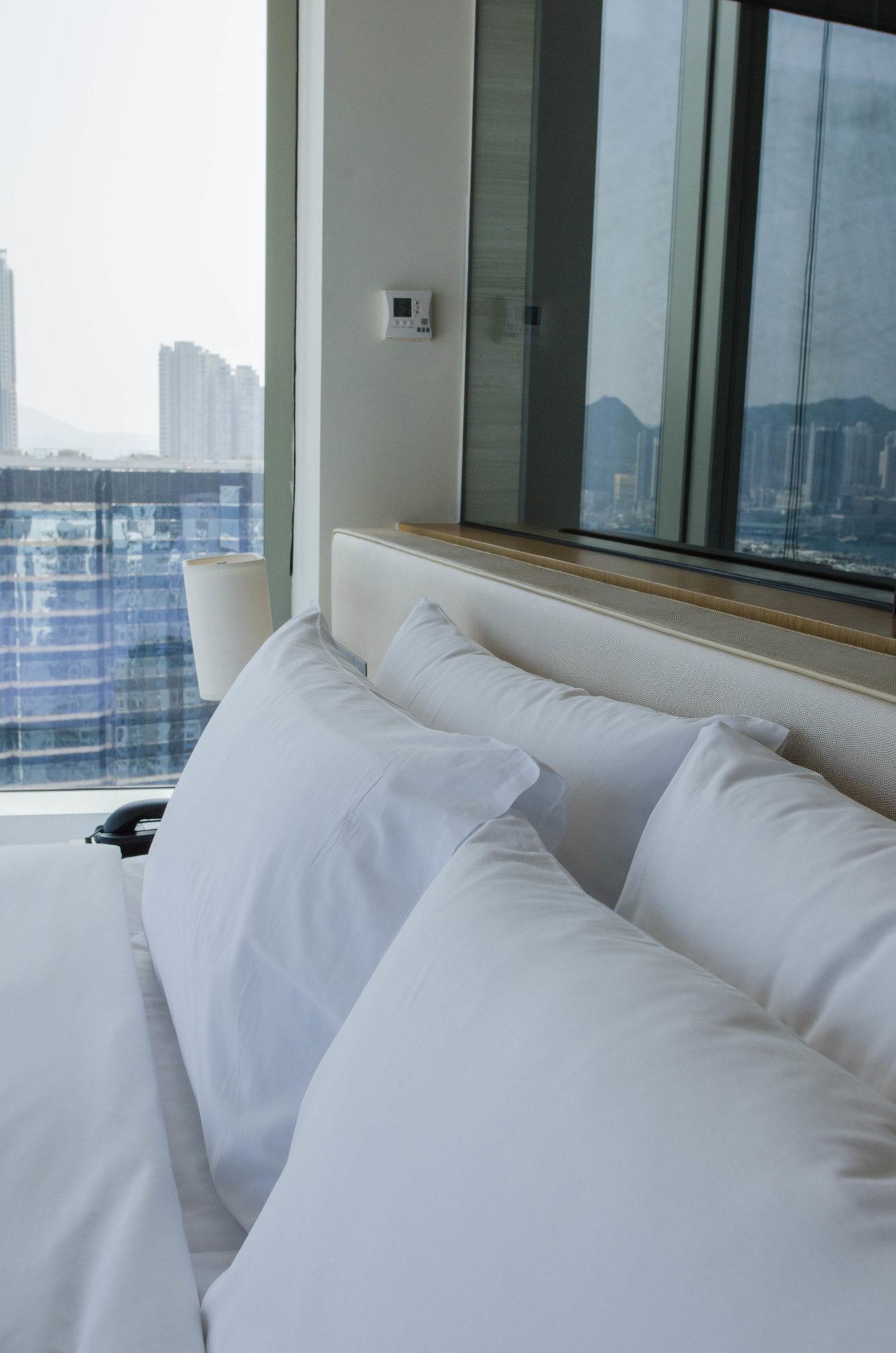 Das Bett im Hotel EAST Hong Kong