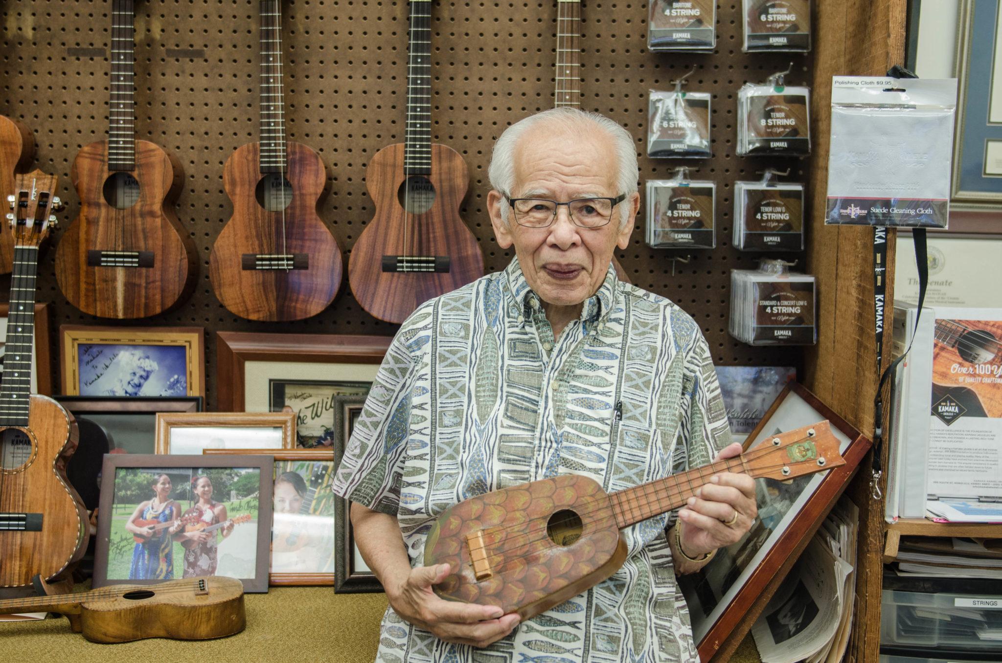 Kamaka Ukulele: Die hawaiianische Kultklampfe kommt aus Freds Schmiede auf Oahu