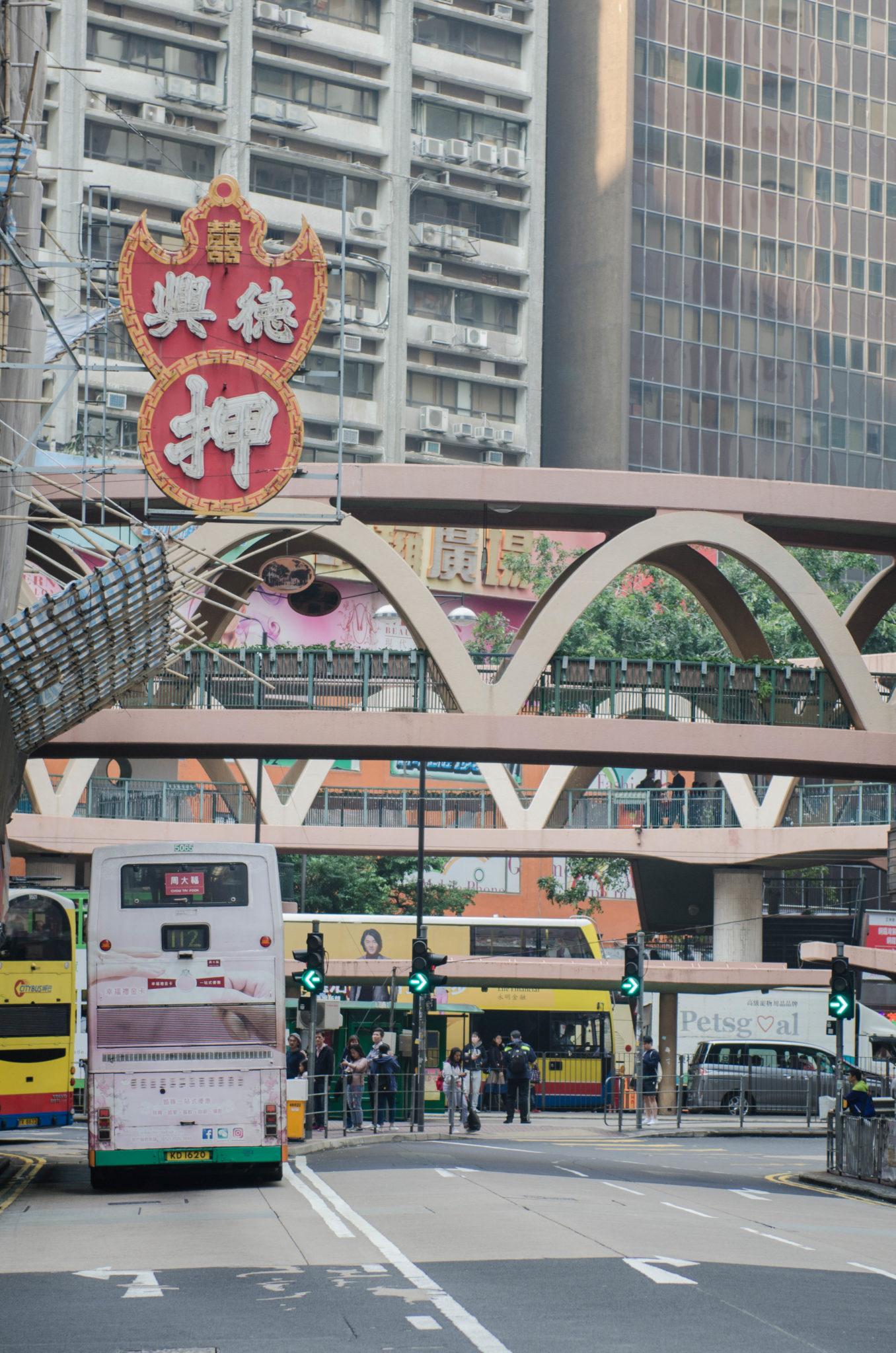 Lanson Place Hotel Hongkong: Der Verkehr in Hongkong ist immer chaotisch
