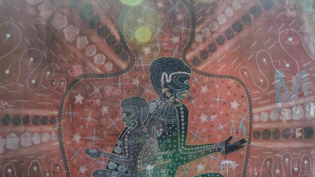 Redfern Sydney: Aborigine Malerei an jeder Ecke