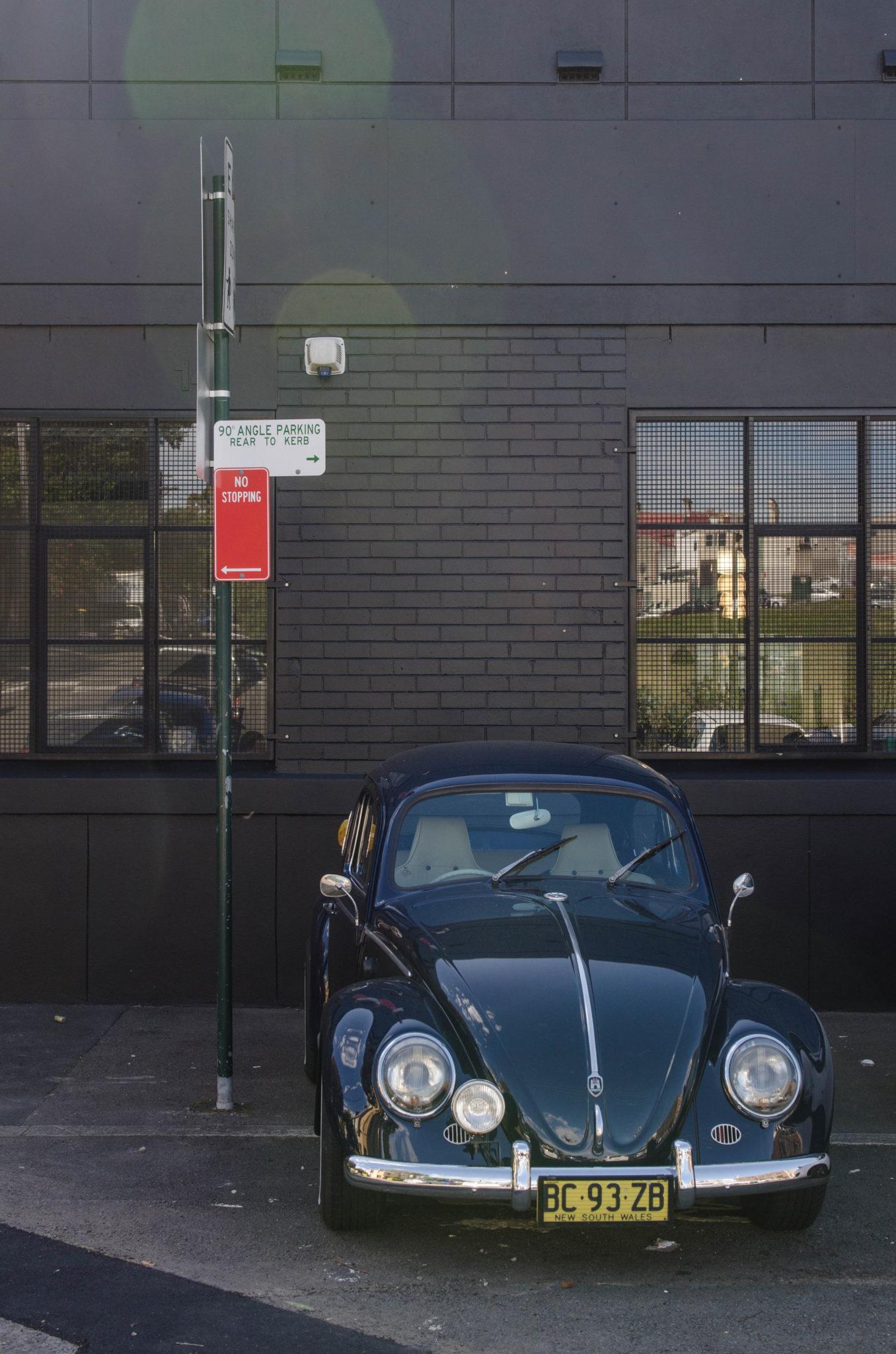 Redfern Sydney: Schicke Autos schmücken die Kulisse