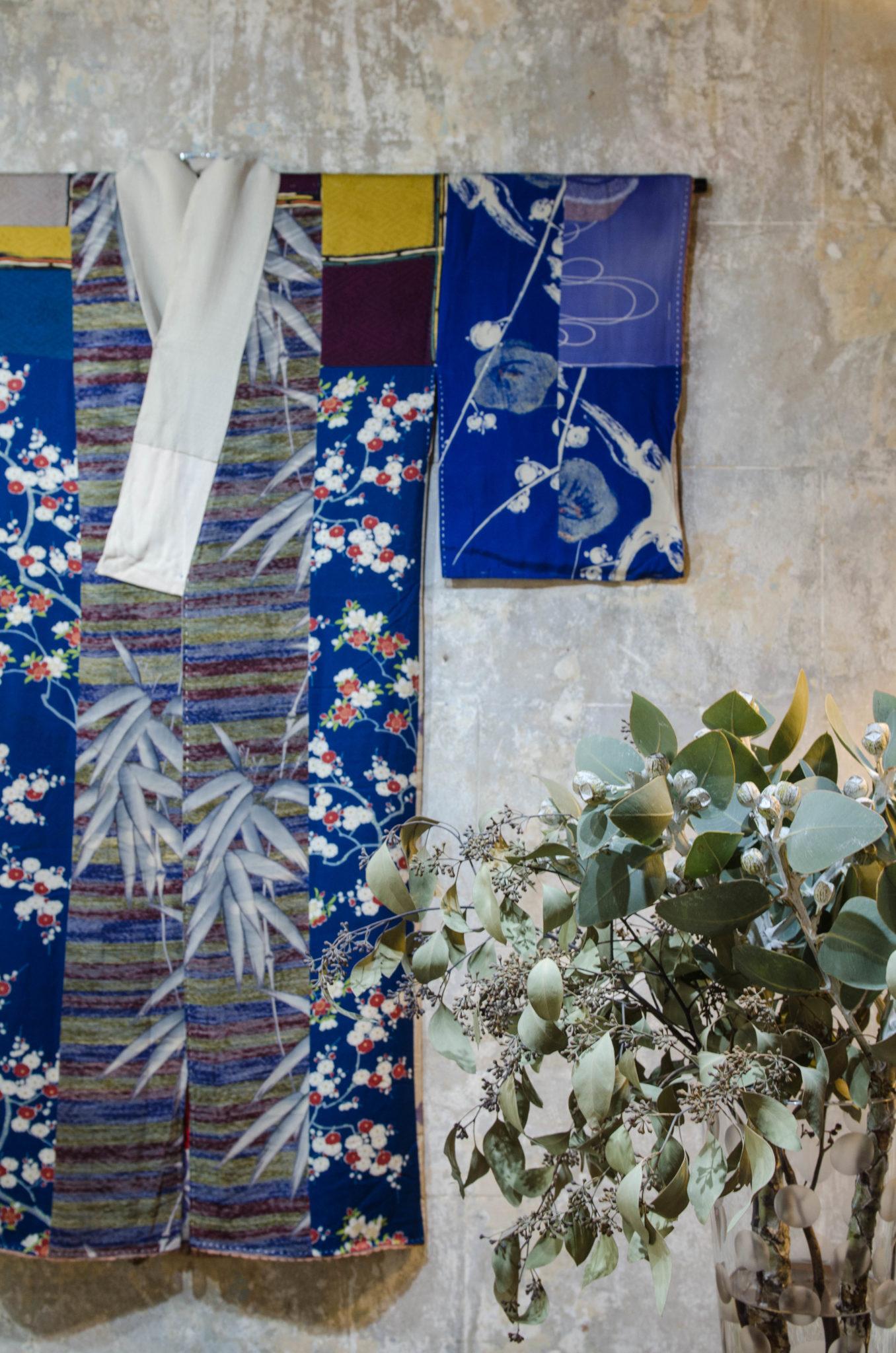 Redfern Sydney: In einer Seitengasse werden Kimonos aus Japan verkauft