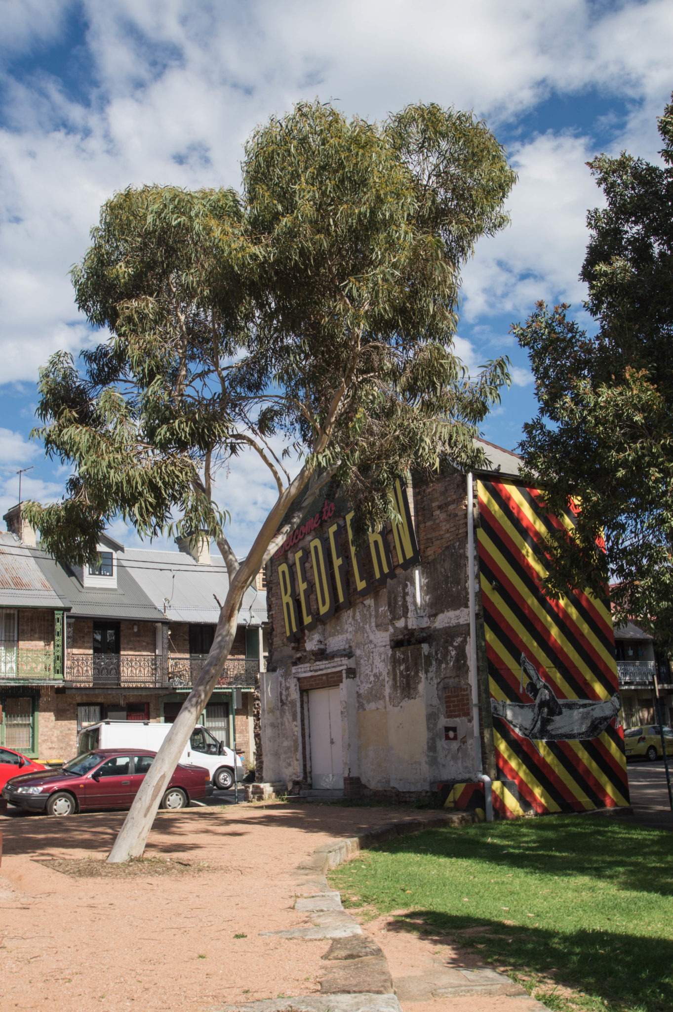 Redfern Sydney: Grafitti hat auch den Weg nach Redfern gefunden