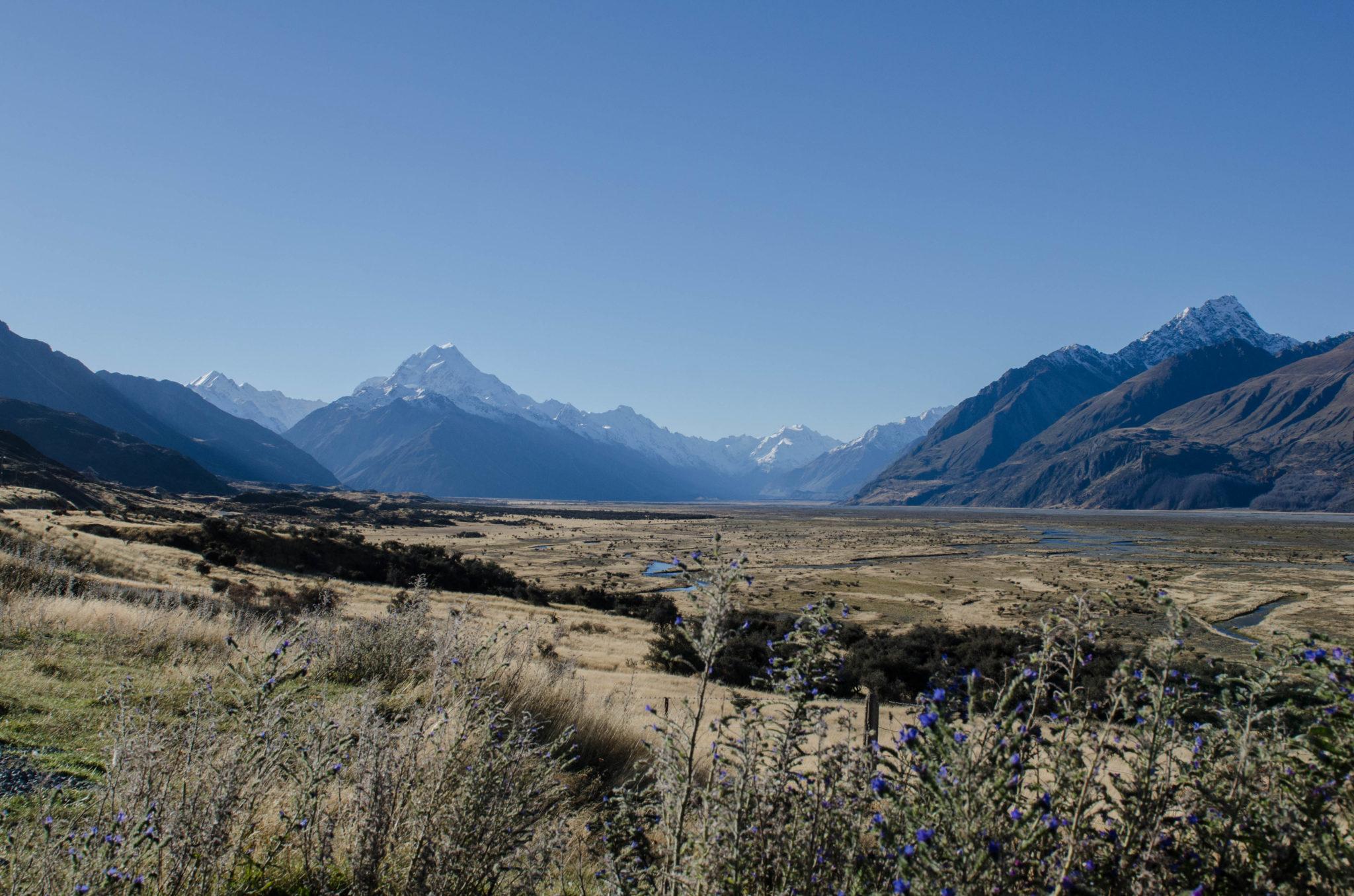 Mount Cook Neuseeland Gletscherwanderung