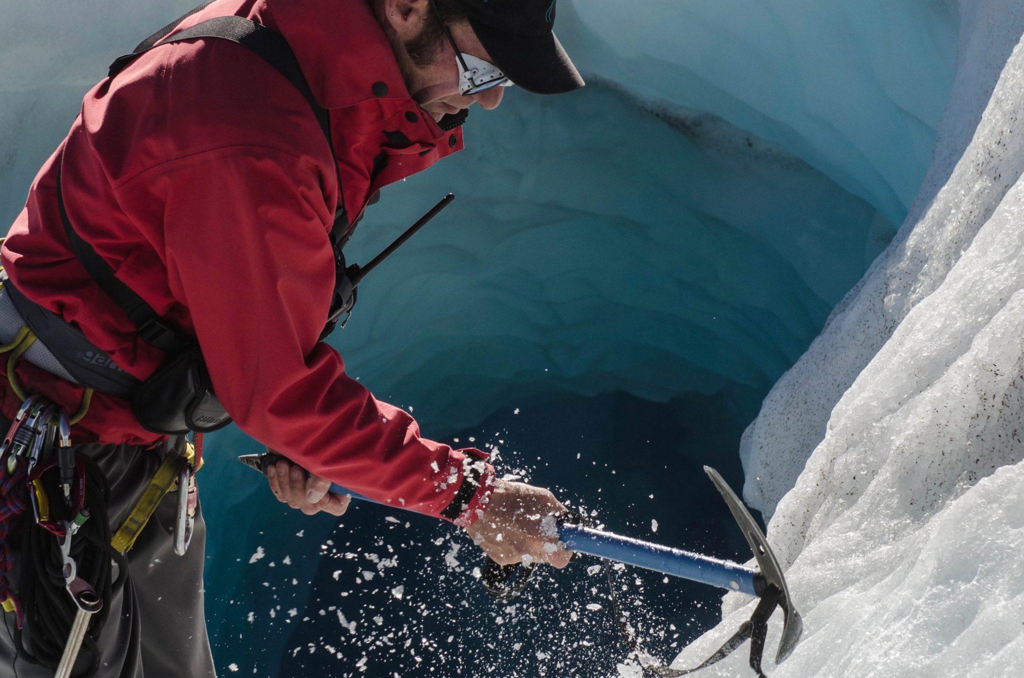 Der Tasman Gletscher: Heli Hike für die Ewigkeit