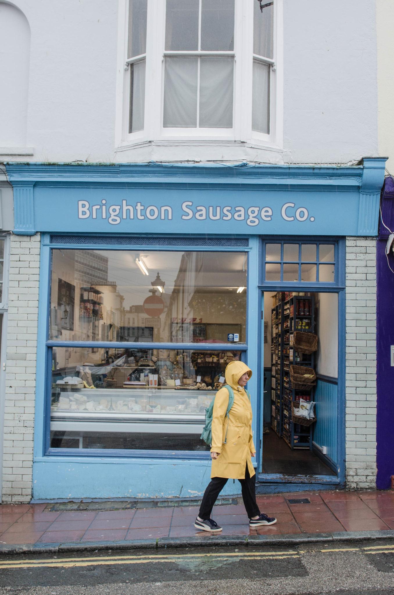 Im Viertel North Laine in Brighton findet man viele kleine leckere Spezialitätenläden.