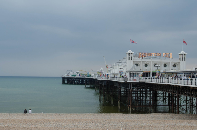 Brighton Beach: Sea and be seen