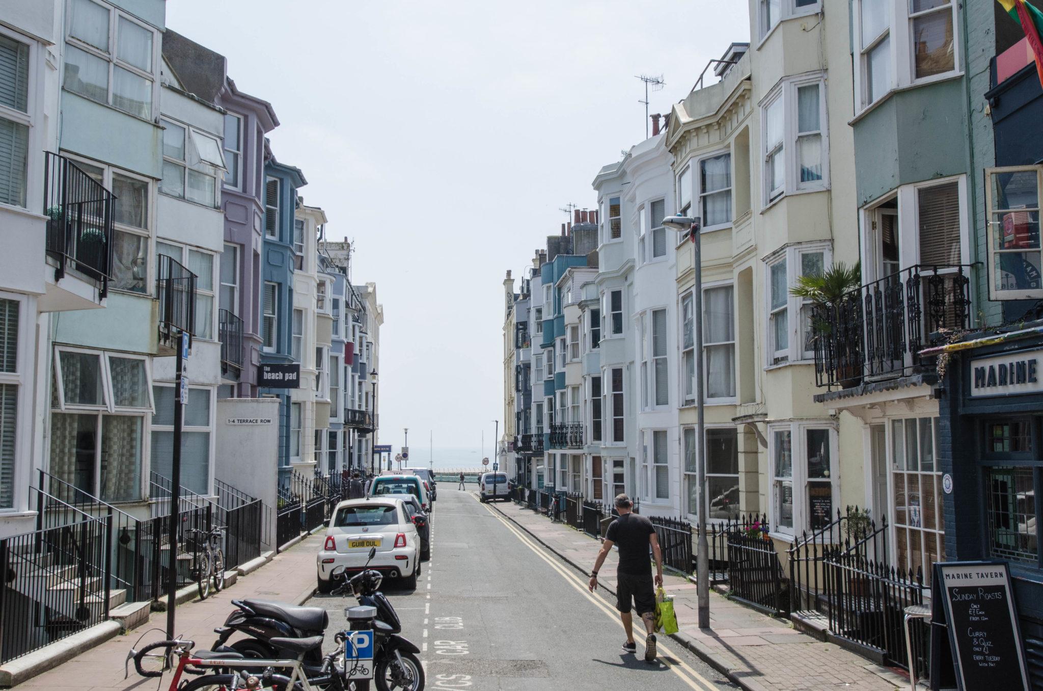 Der Stadtteil Kemptown ist das Herz der Künstler in Brighton.