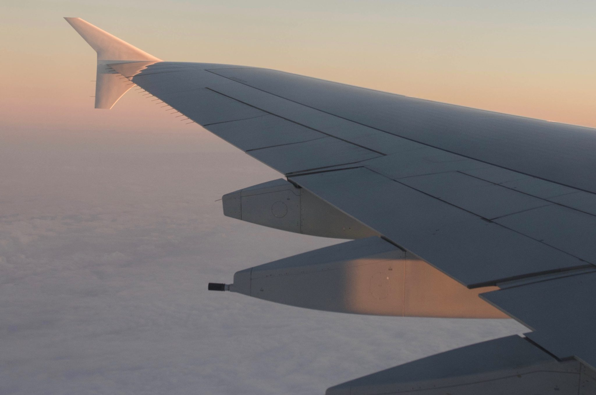 Emirates Business Class im A380 von Hongkong nach Dubai
