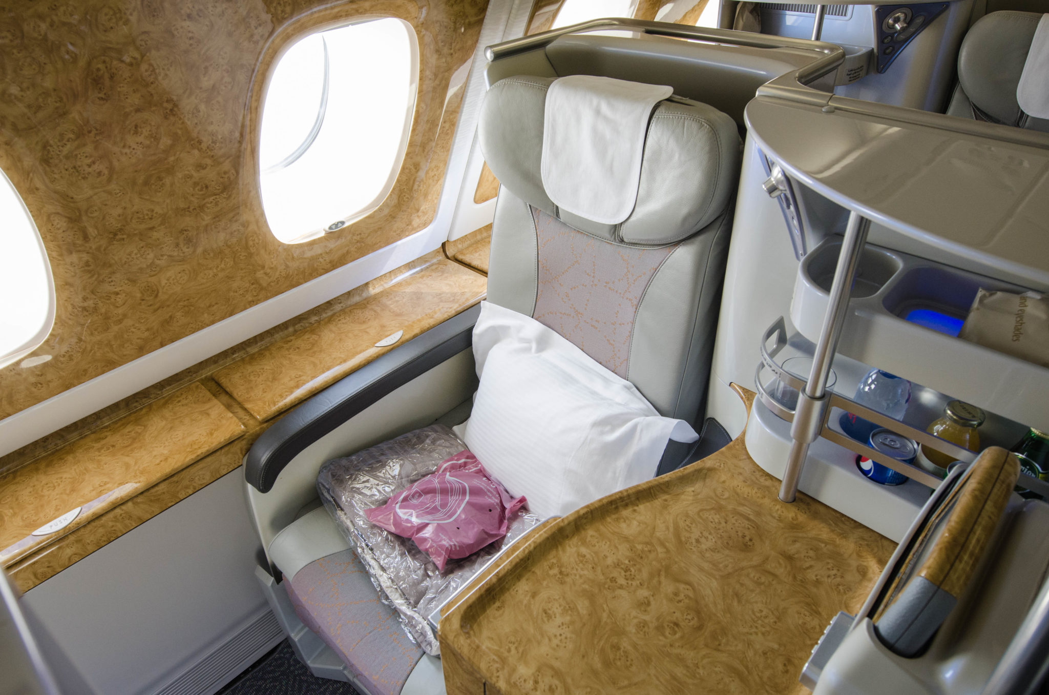 Der Emirates Business Class Sitz im A380