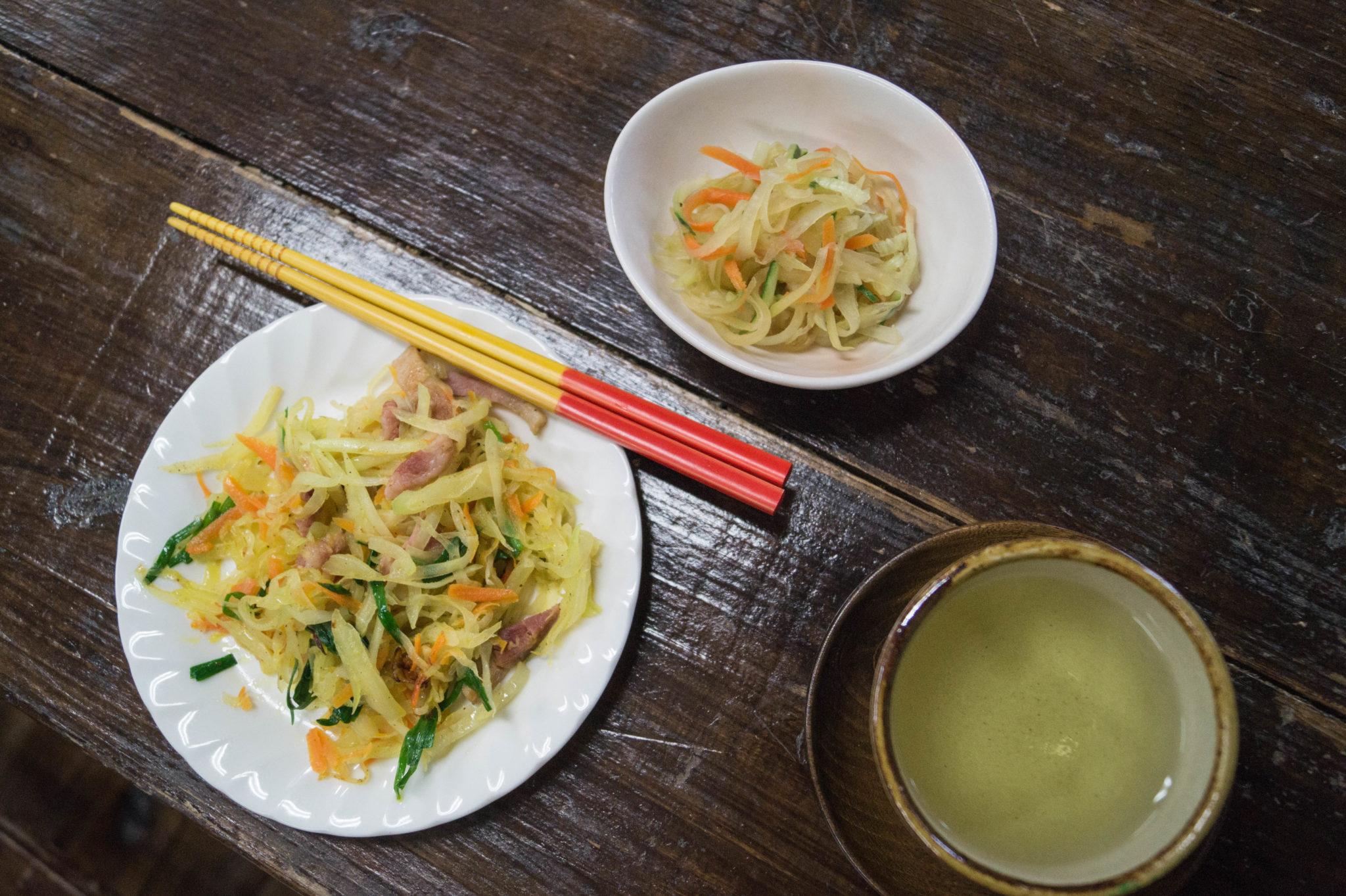 Die Küche in Japan ist gesund und frisch.