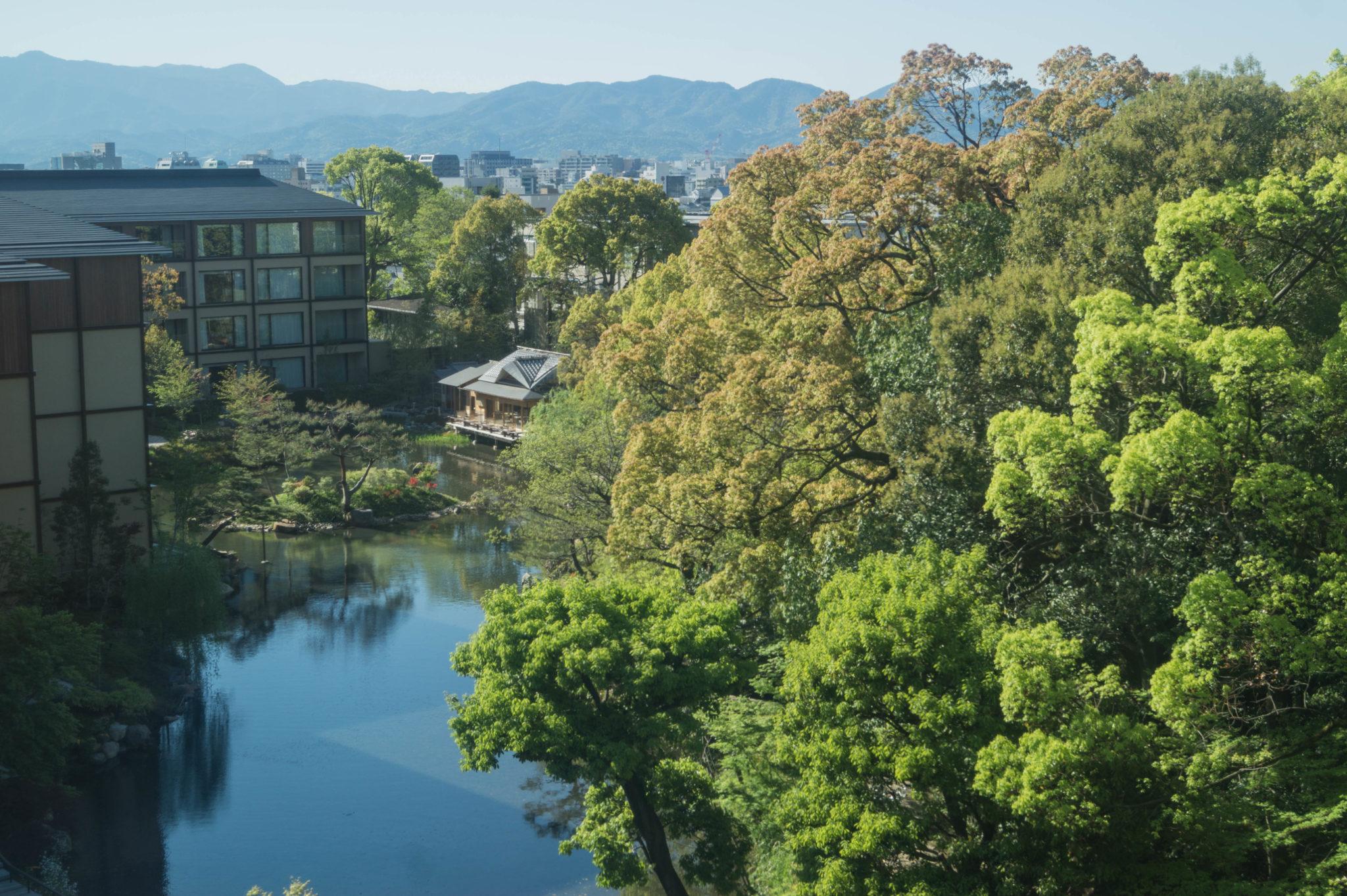 Das Four Seasons Hotel in Kyoto ist eine der nobleren Adressen in Kyoto.