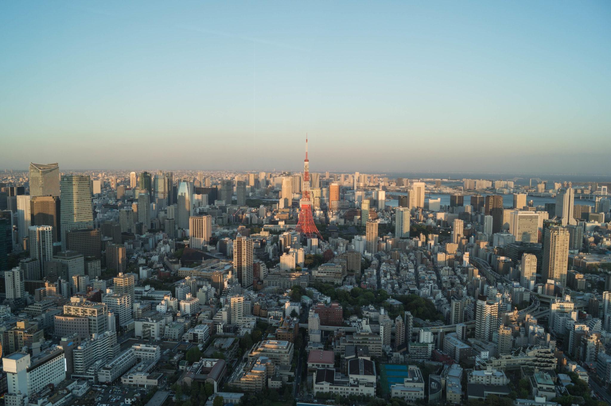 Eine gute Aussicht auf Tokio gibt's vom Tokyo Metropolitan Government Building.
