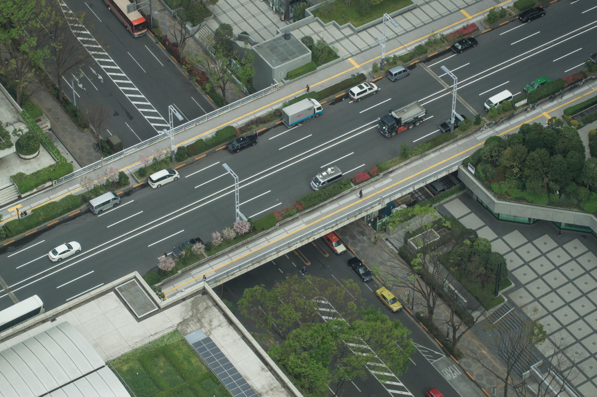 Mit dem Taxi in Tokio zu fahren erfordert keine Japanisch Kenntnisse.