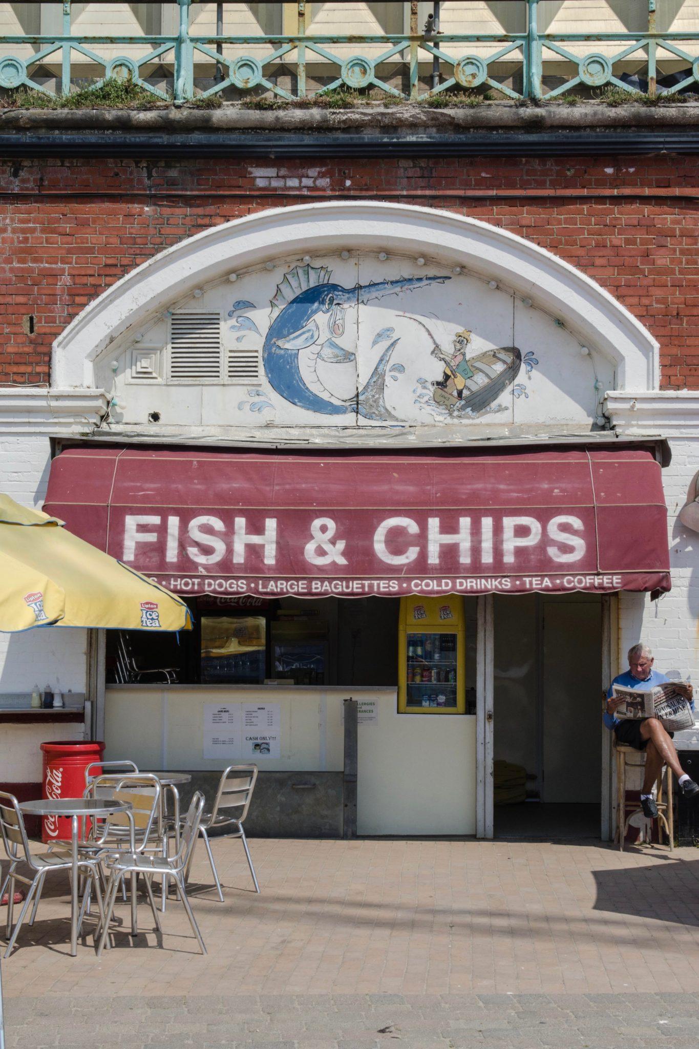 Brighton Beach ist ein bunter Mix aus Strand, Souvenirständen und süßen Museen.