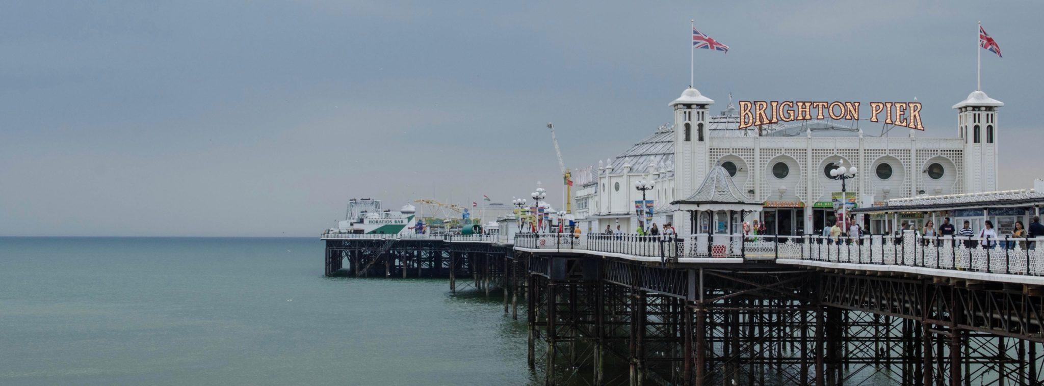 Der Brighton Palace Pier ist ein echter Vergnügungspark mit allem drum und dran.