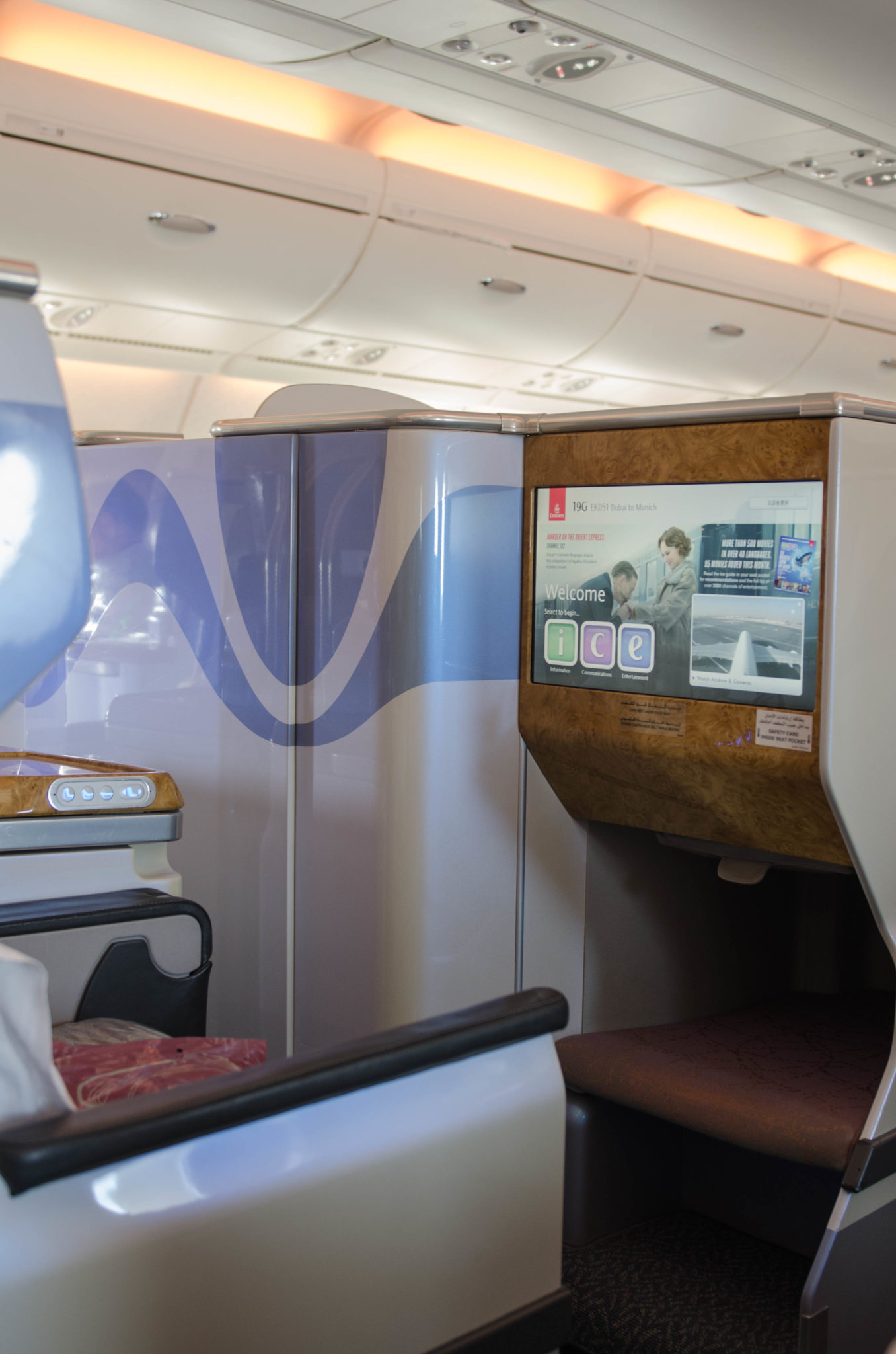 Emirates Munchen Ab Dubai In Der Business Class Des A380