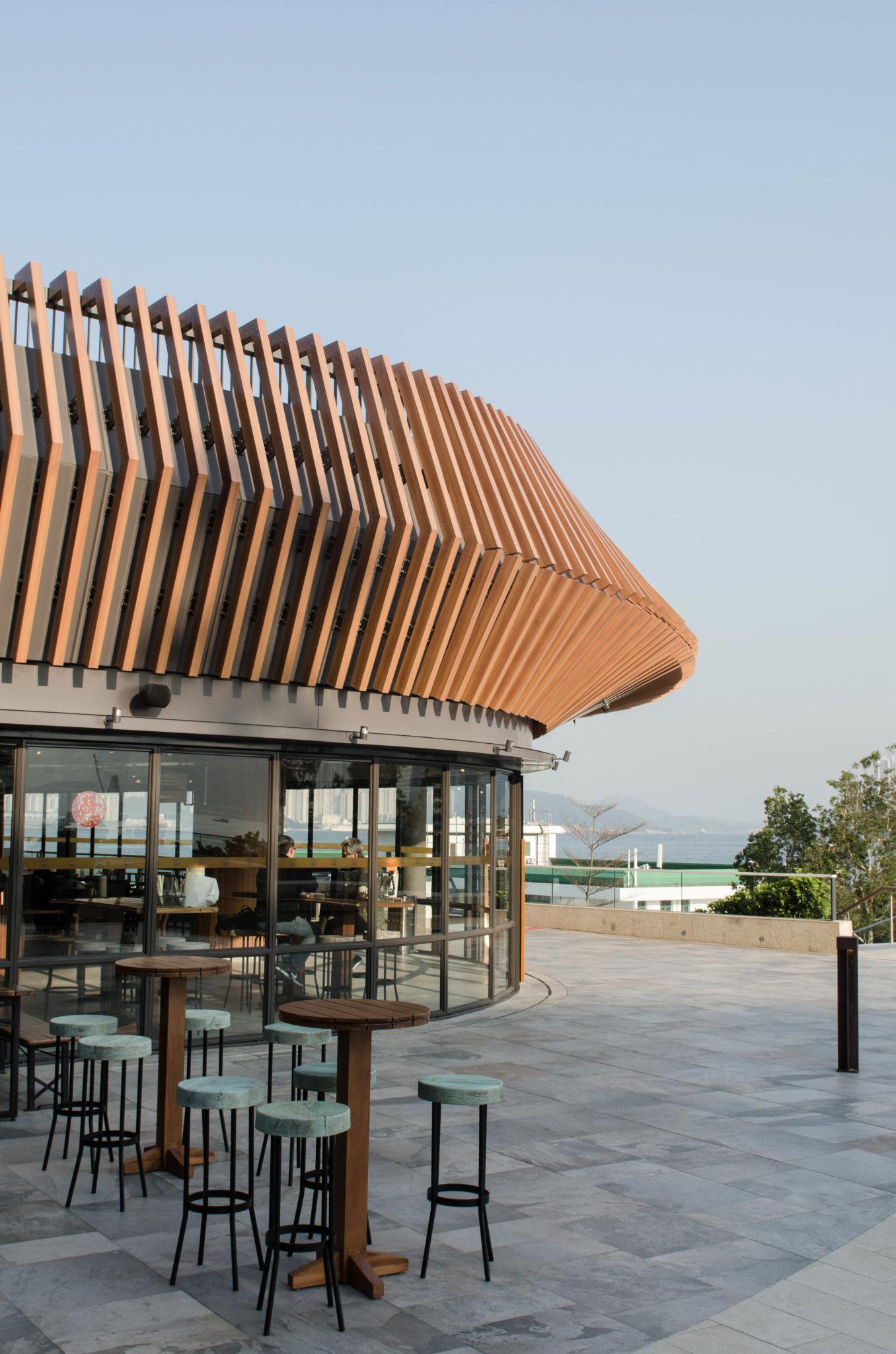 Kerry Hotel Hong Kong: Im Dockyard gibt's Streetfood.