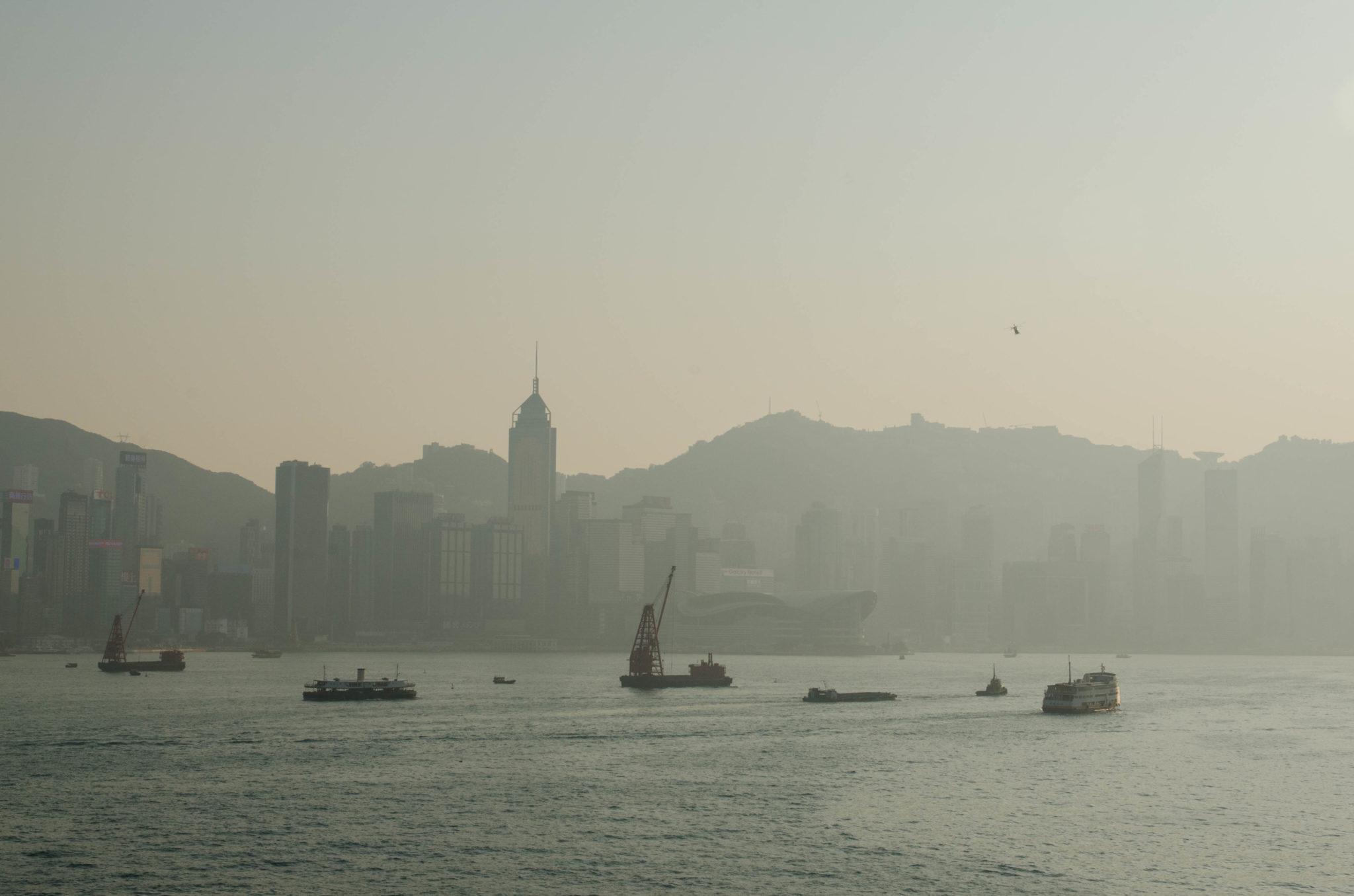 Der Abschied vom Kerry Hong Kong fällt schwer.