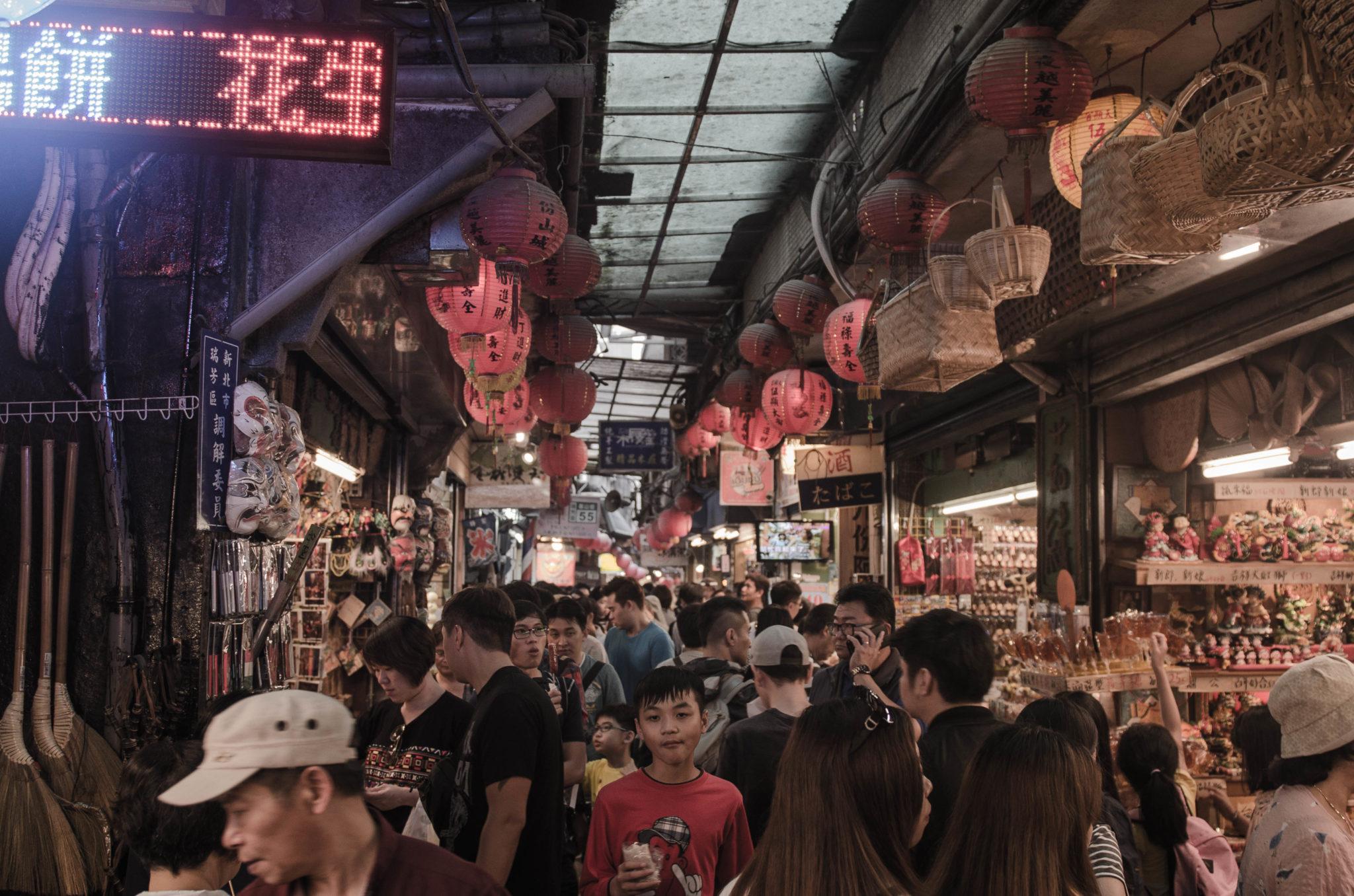Die Touristenstadt Jiufen gehört zur Taiwan Rundreise dazu