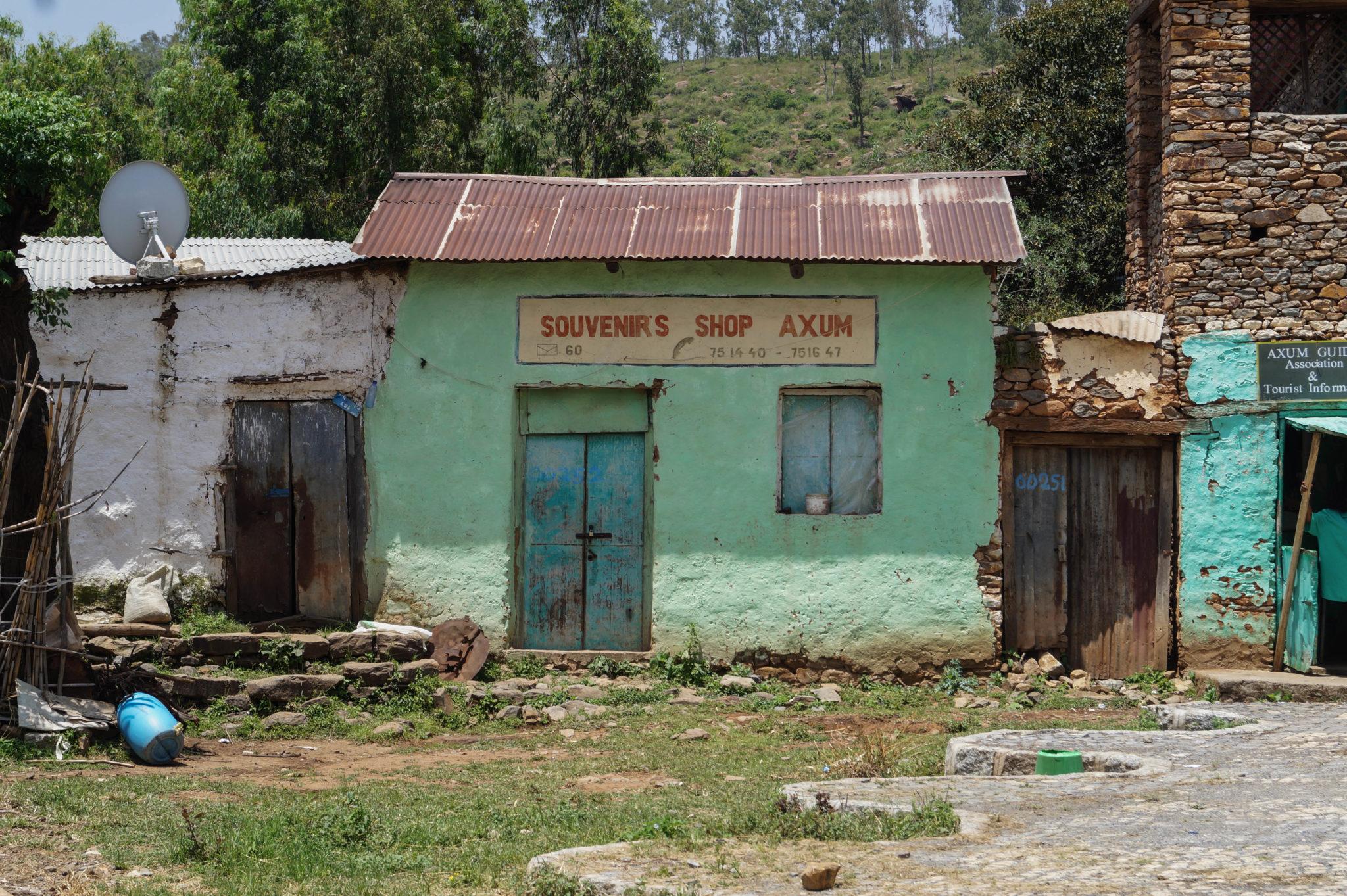 Äthiopien Norden: Axum ist ein schickes Städten auf der Äthiopien Rundreise.