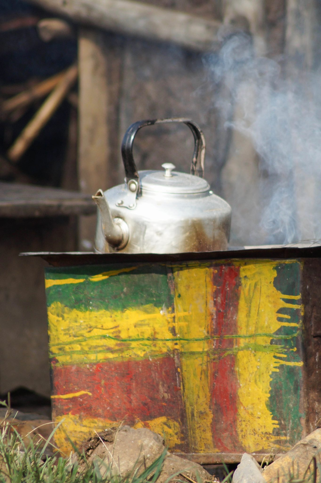 Äthiopien Norden: Kaffee ist das wichtigste im Alltag der Äthiopier.