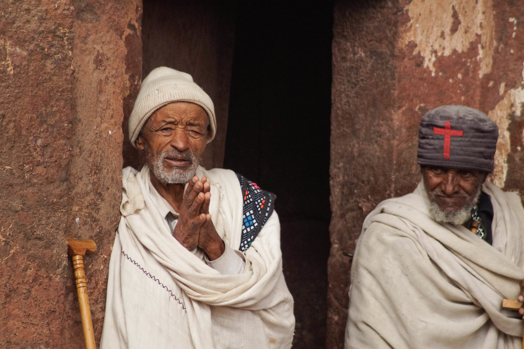 Äthiopien Norden: Die Felsenkirchen von Lalibela nehmen gut zwei Tage in Anspruch.