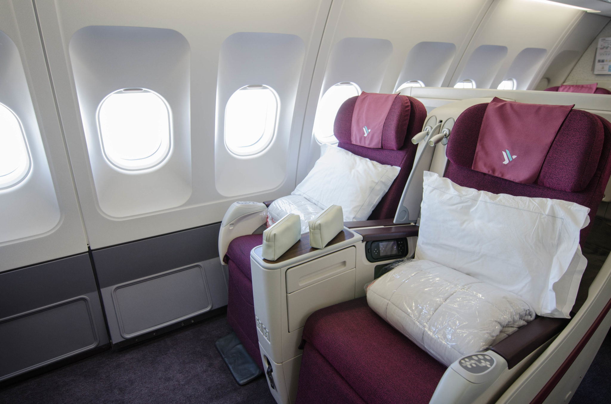 Air Italy Business Class im Airbus A330