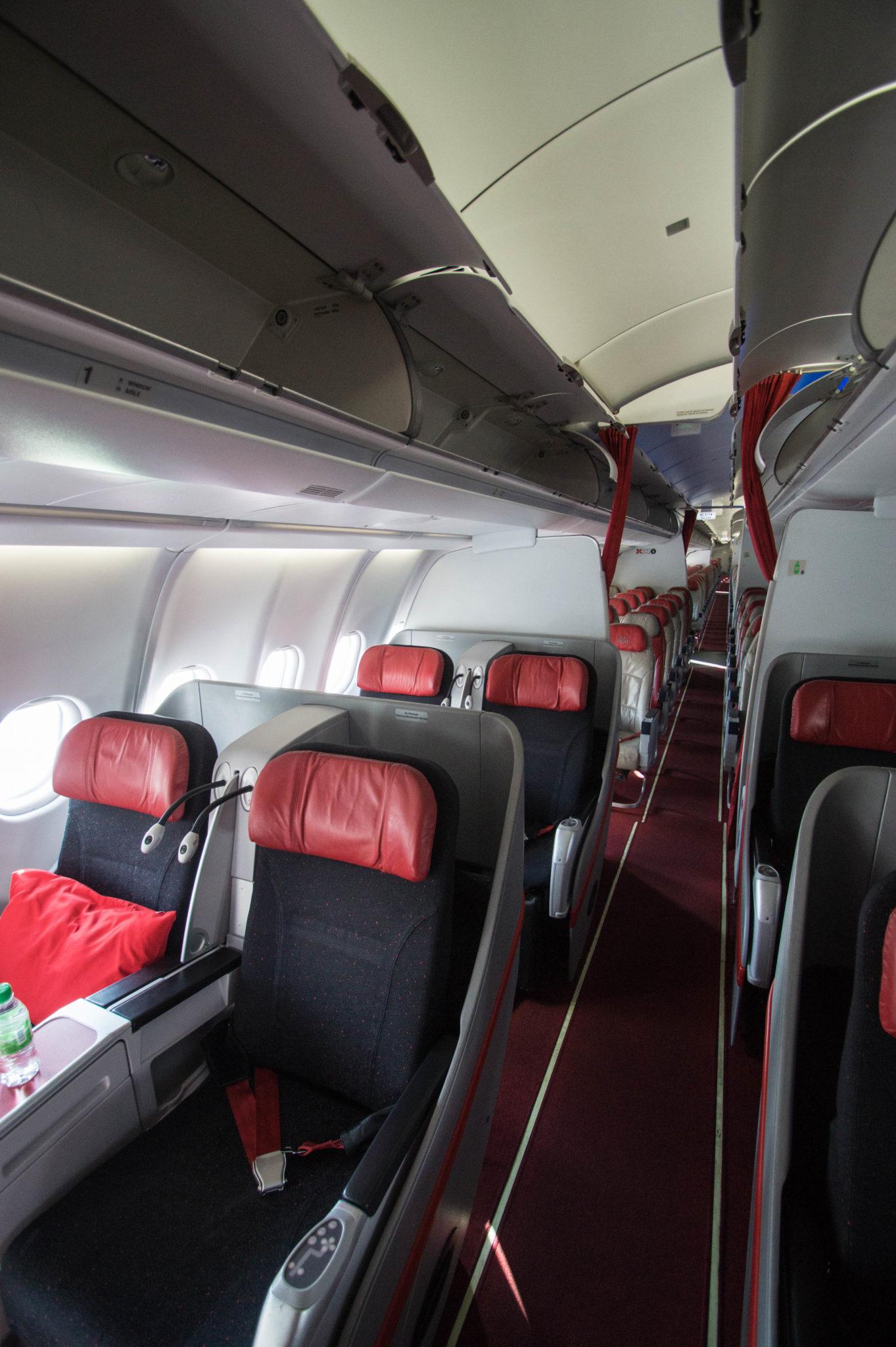 Air Asia Premium Flatbed: Mit dem A330 von Kuala Lumpur nach Bali