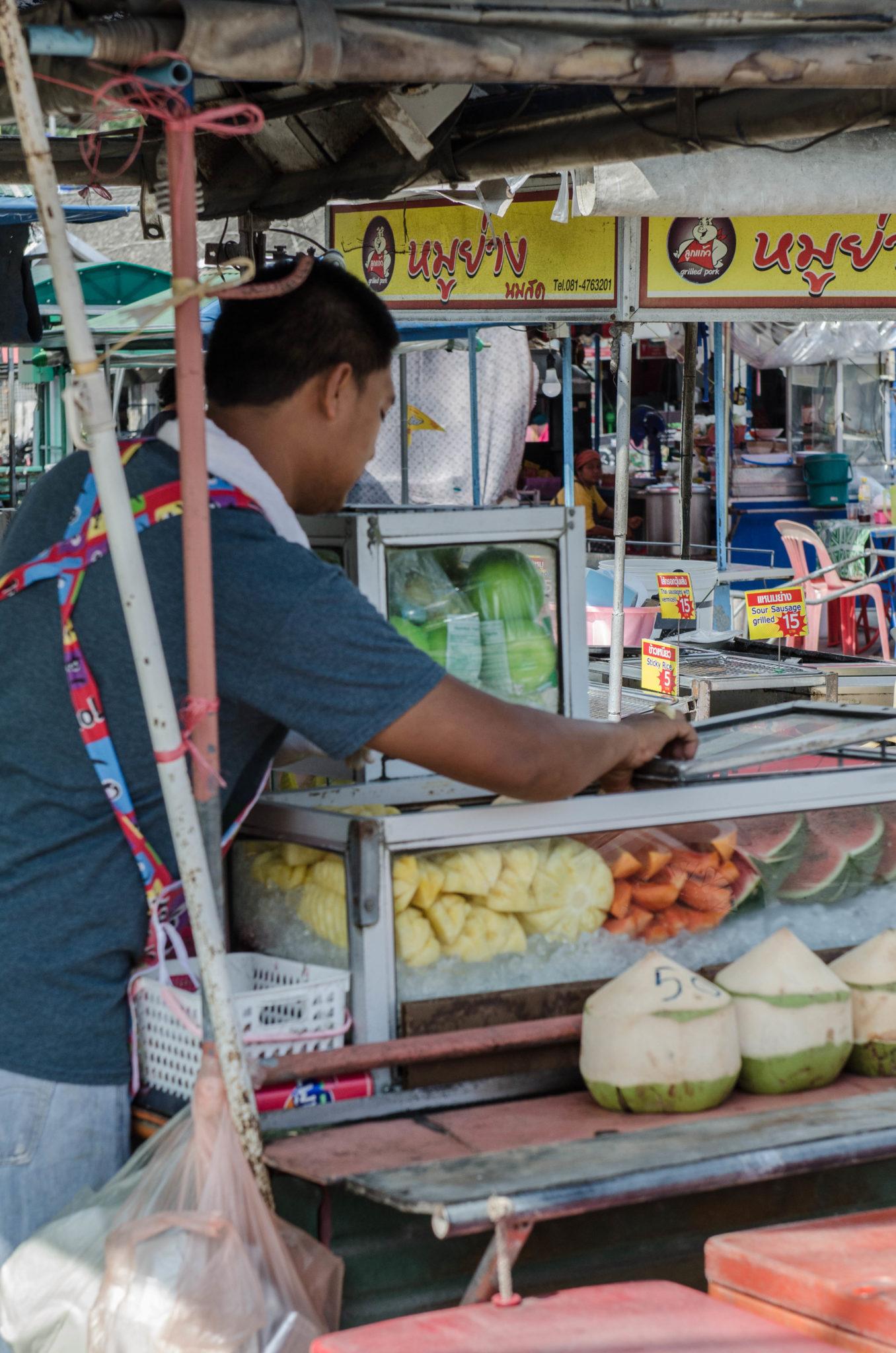 Streetfood auf Koh Phangan in Thailand