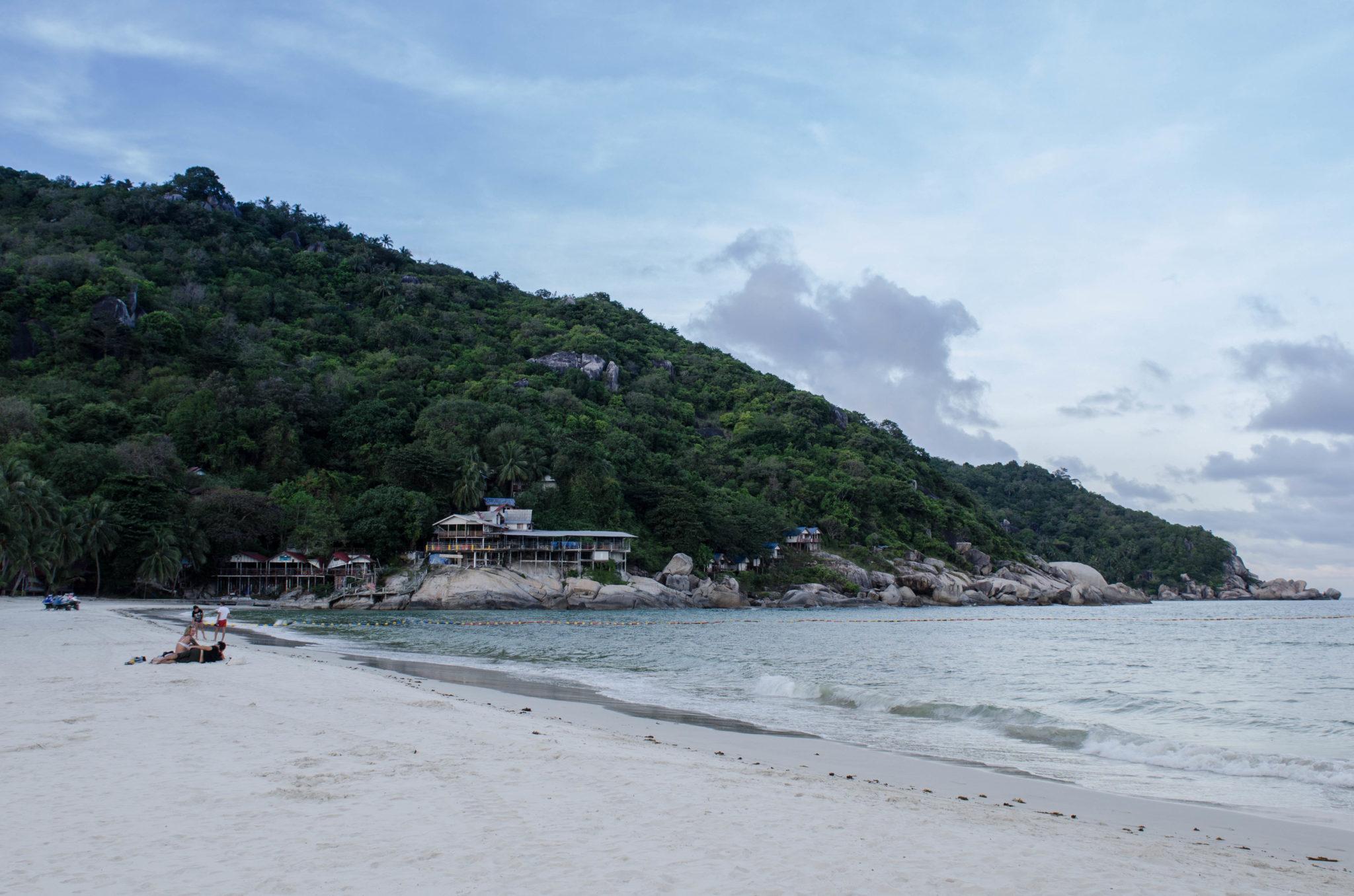Haad Rin Beach, Zuhause der Fullmoon Party auf Koh Phangan