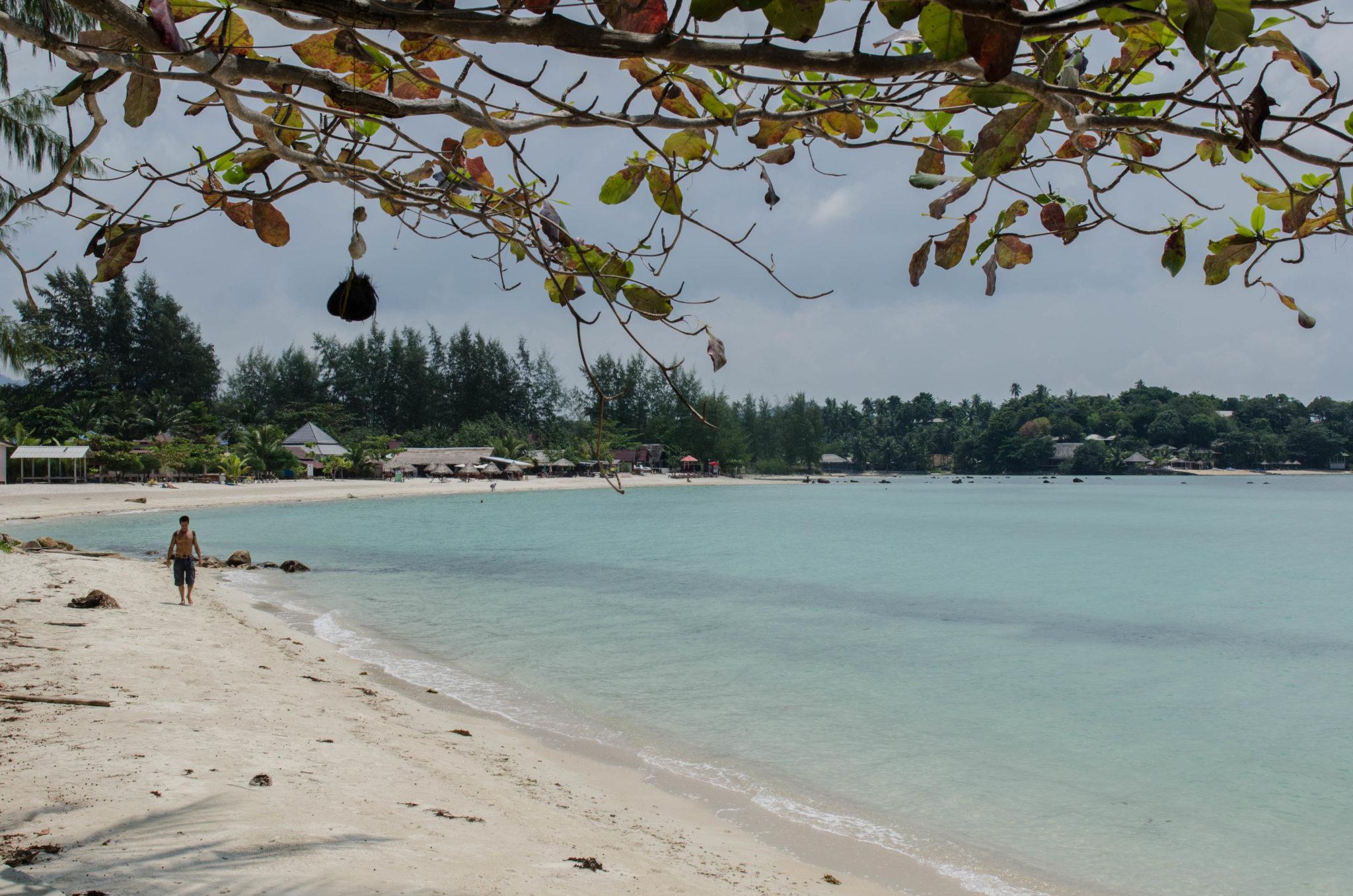 Strandspaziergang Koh Phangan