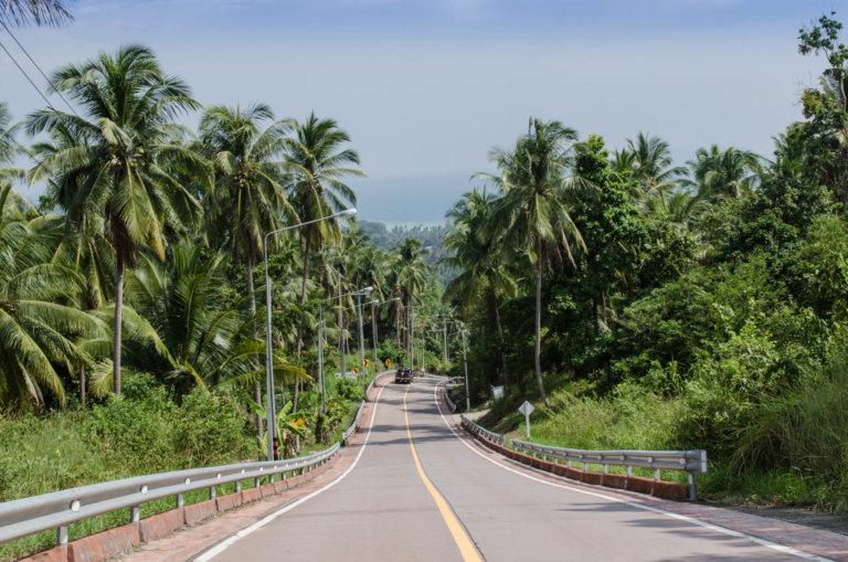 Koh Phangan Sehenswürdigkeiten: Tempel, Buchten und Serpentinen