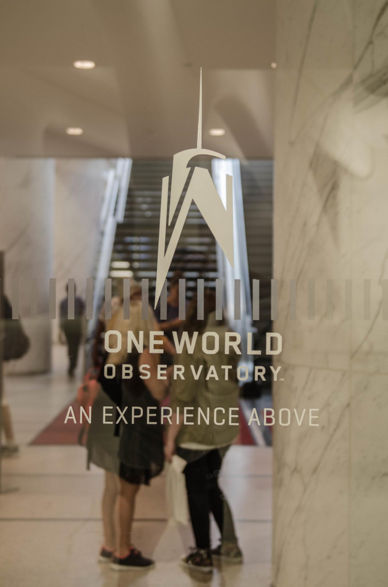 Eingang zum One World Observatory