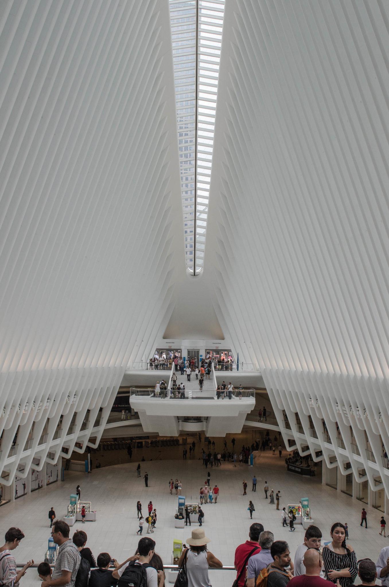Das Innere des One World Trade Center