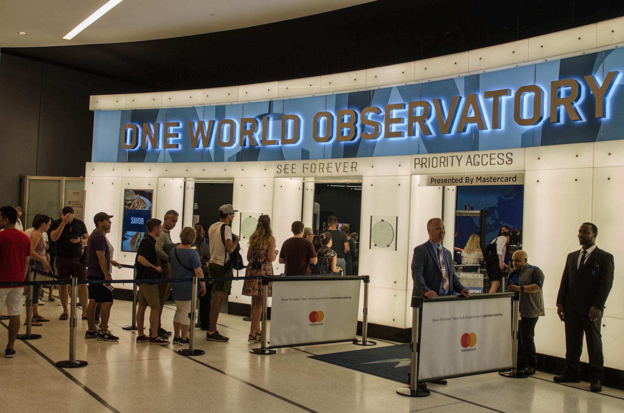 Warteschlange vermeiden und Tickets für das One World Trade Observatory schon vorher kaufen