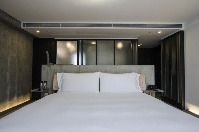 Maximaler Minimalismus: Das TUVE Hotel in Hongkong