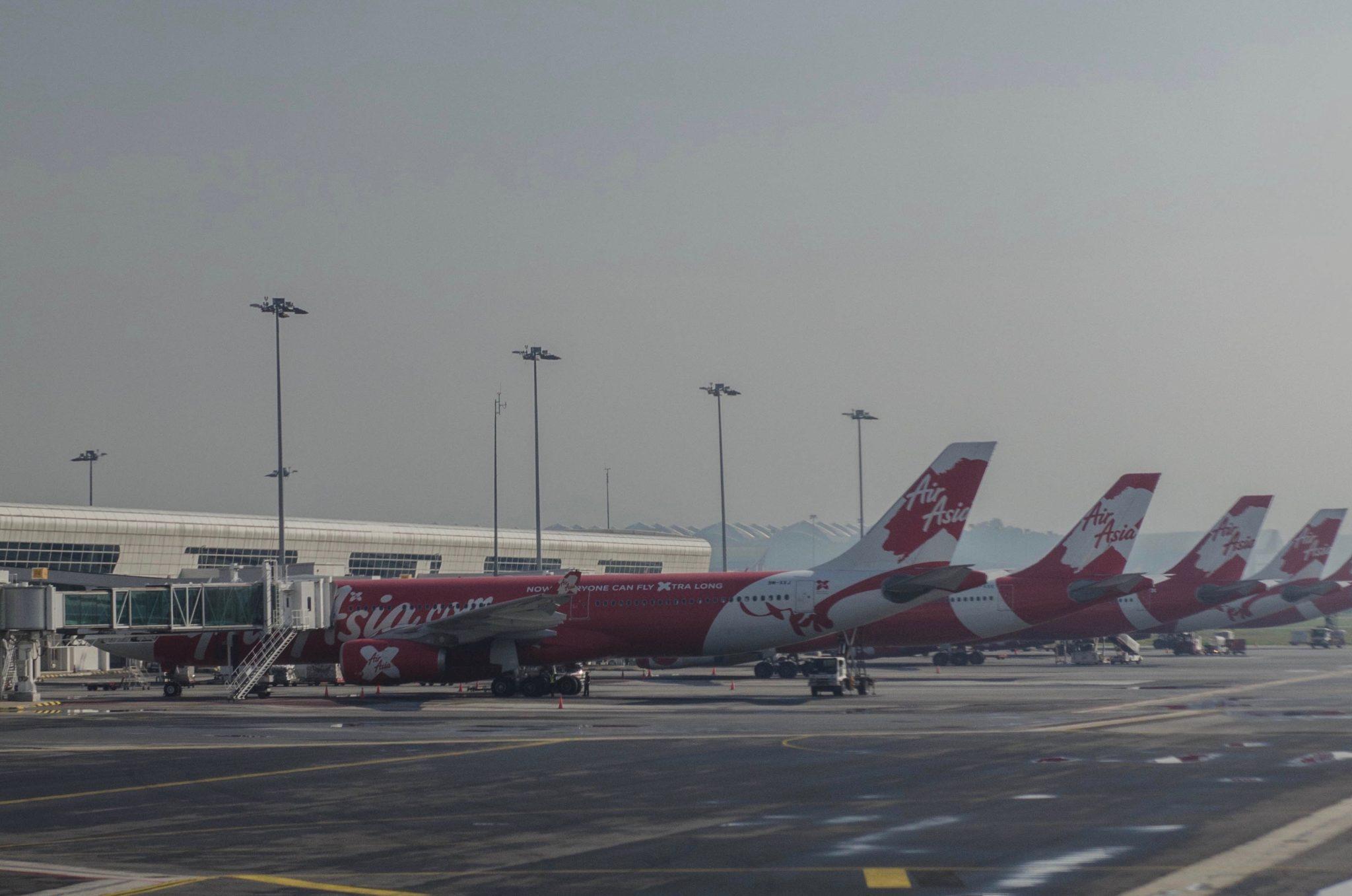 Air Asia Premium Flatbed im Airbus A330
